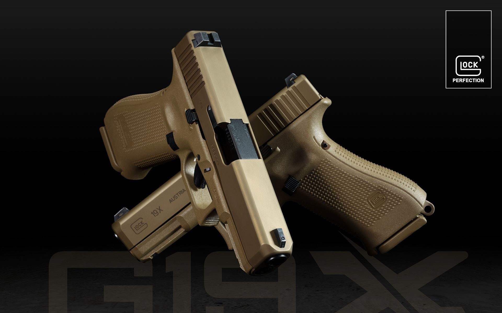 Res: 1920x1200, 1920 x 1200. Start download. GLOCK Gen5 Wallpaper Preview