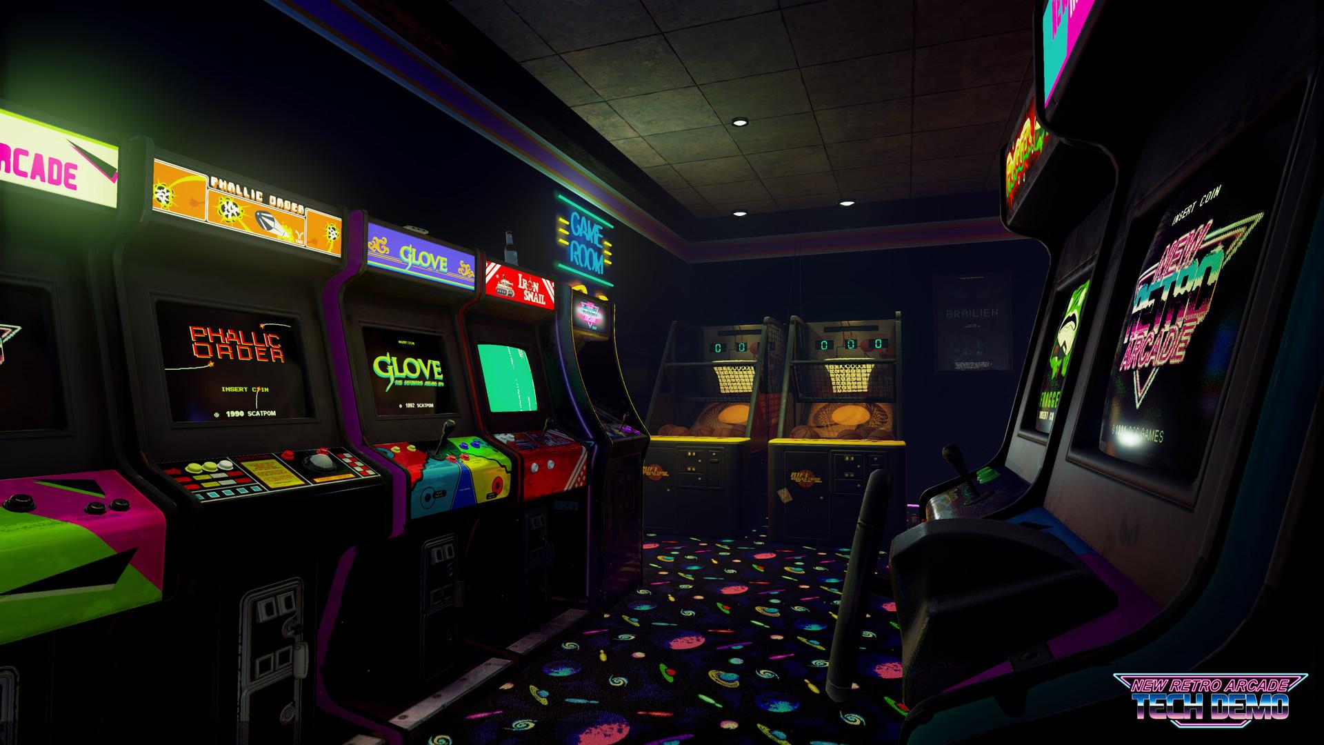 Res: 1920x1080, New Retro Arcade: Neon