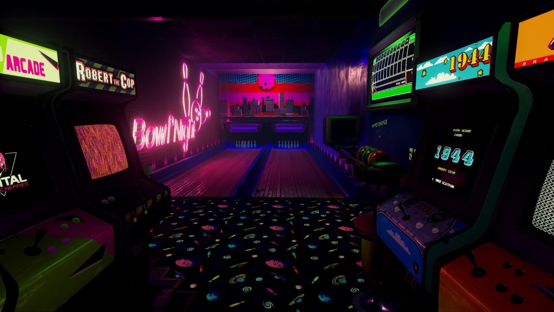 Res: 1920x1080, New Retro Arcade Neon 5