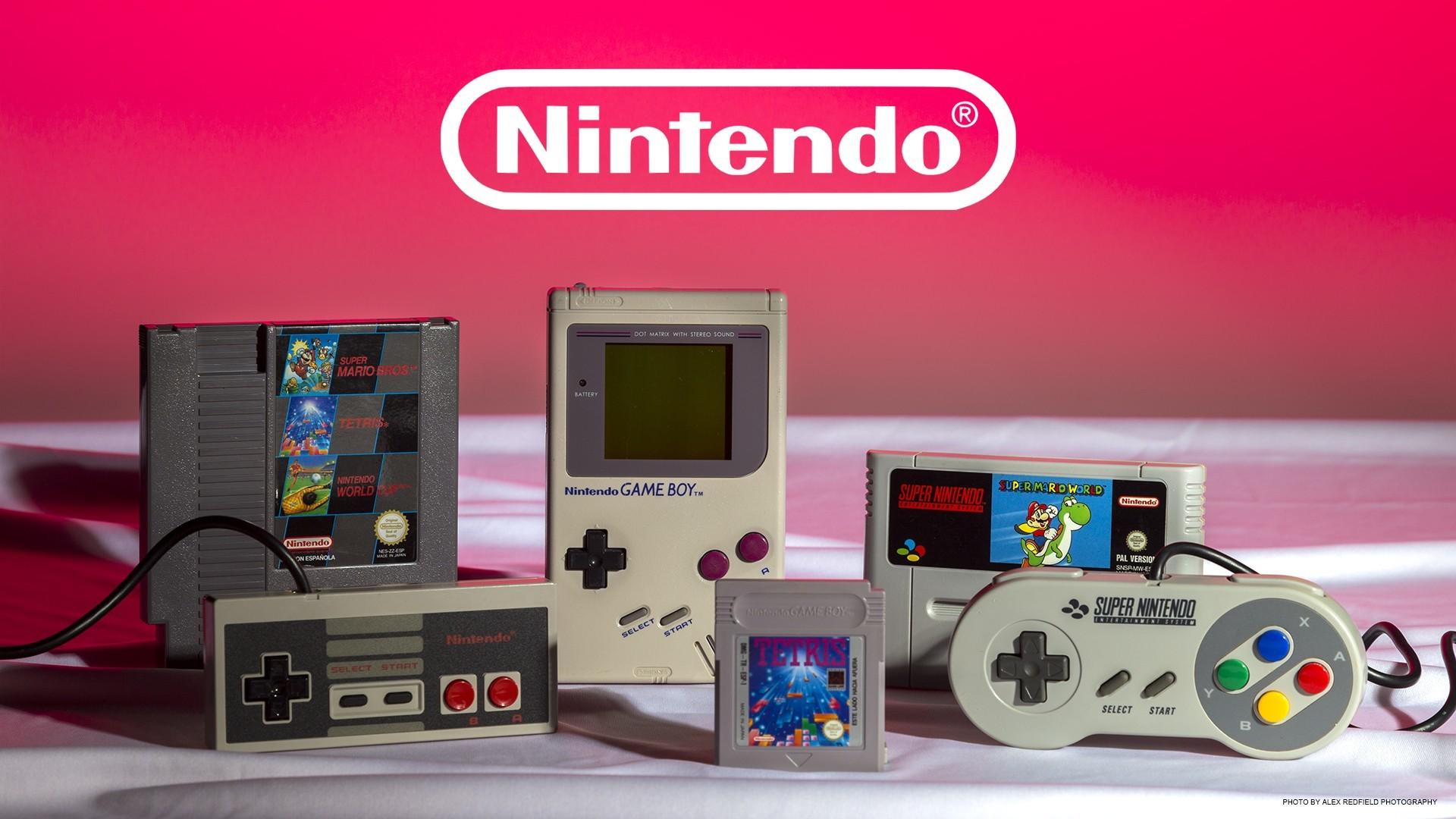 Res: 1920x1080, Retro Nintendo Wallpaper (March 17, 2018, 323.99 Kb) - M.F. Backgrounds