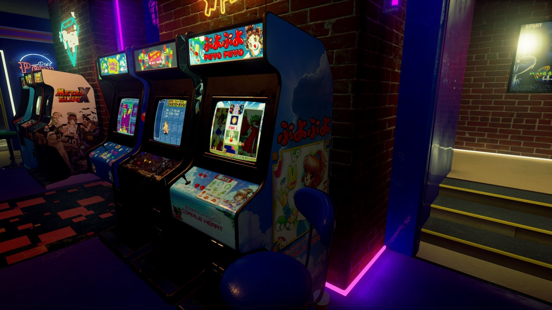 Res: 1920x1080, I'm never going to find Puyo Puyo Sun cabinet art, but I can
