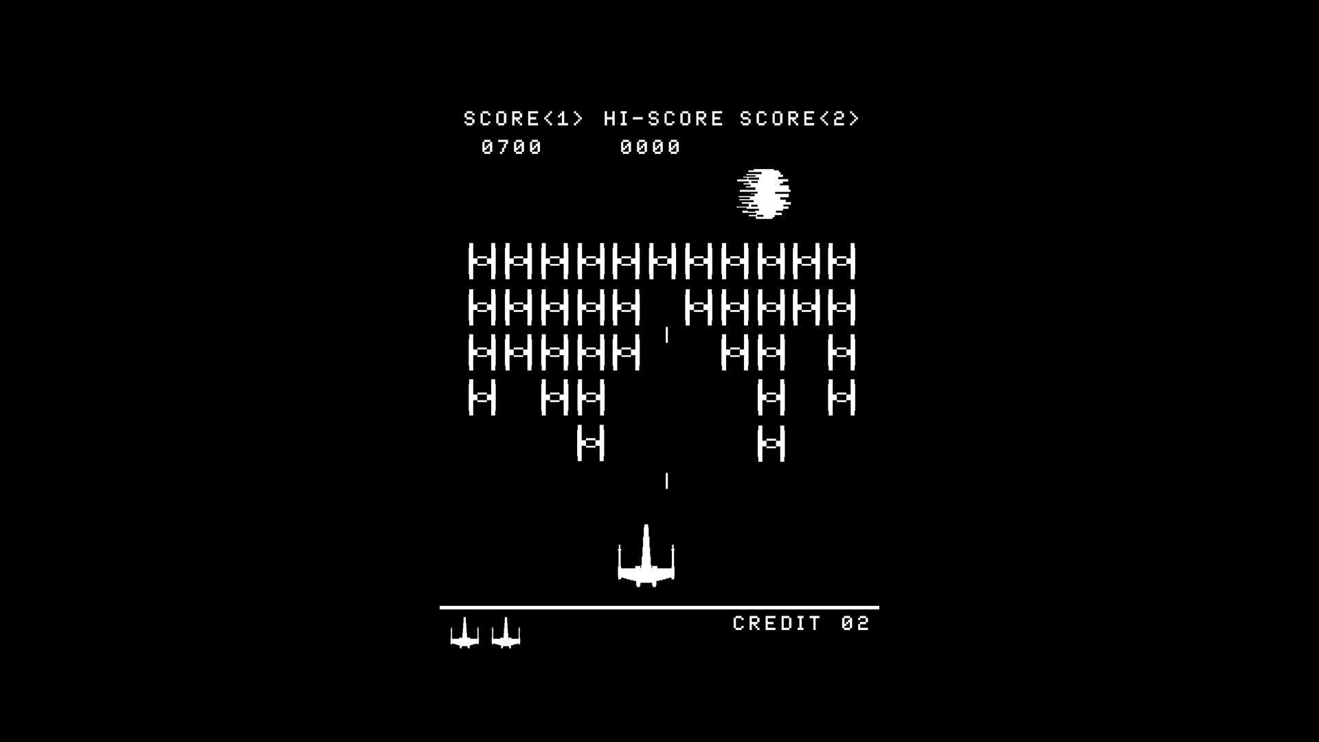 Res: 1920x1080, Download hd wallpapers of 161363-retro Games, Black Background, Star Wars,  Space