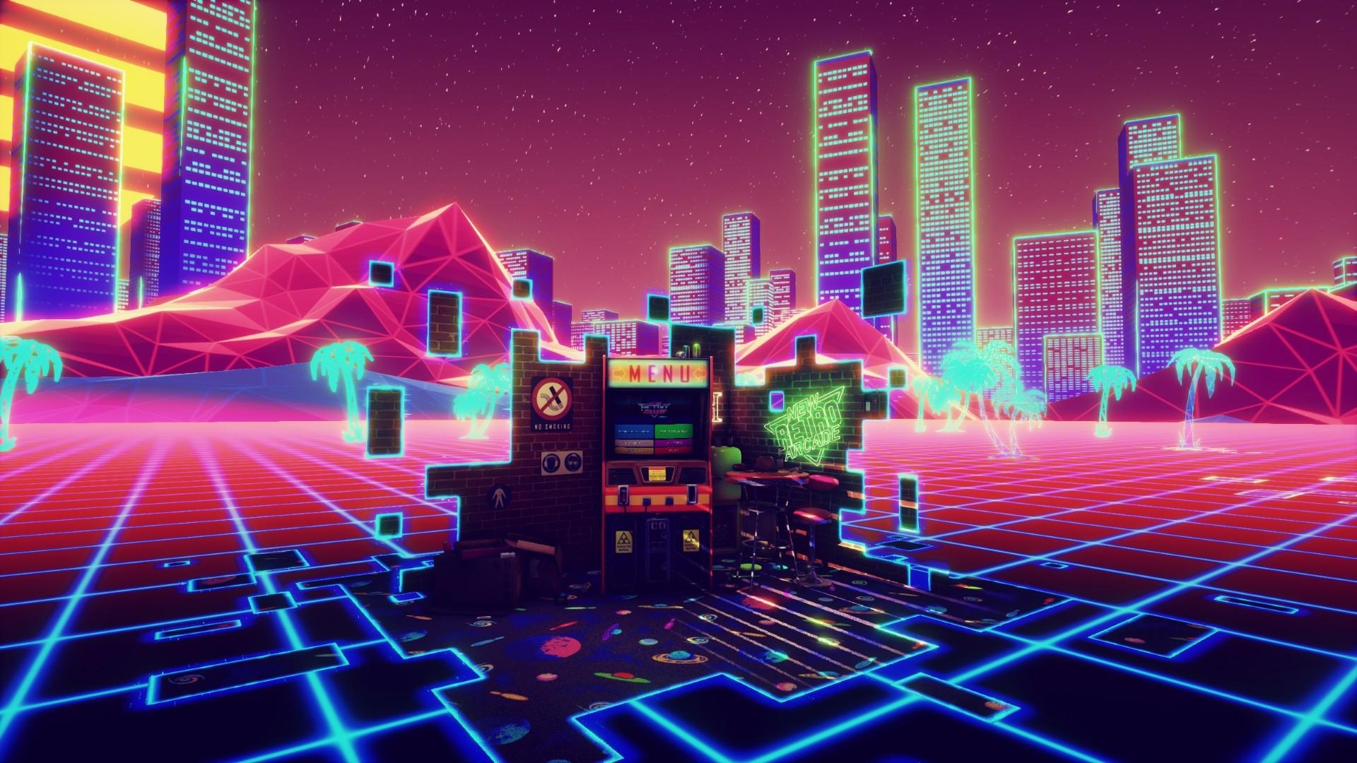Res: 1920x1080, New Retro Arcade Neon 4