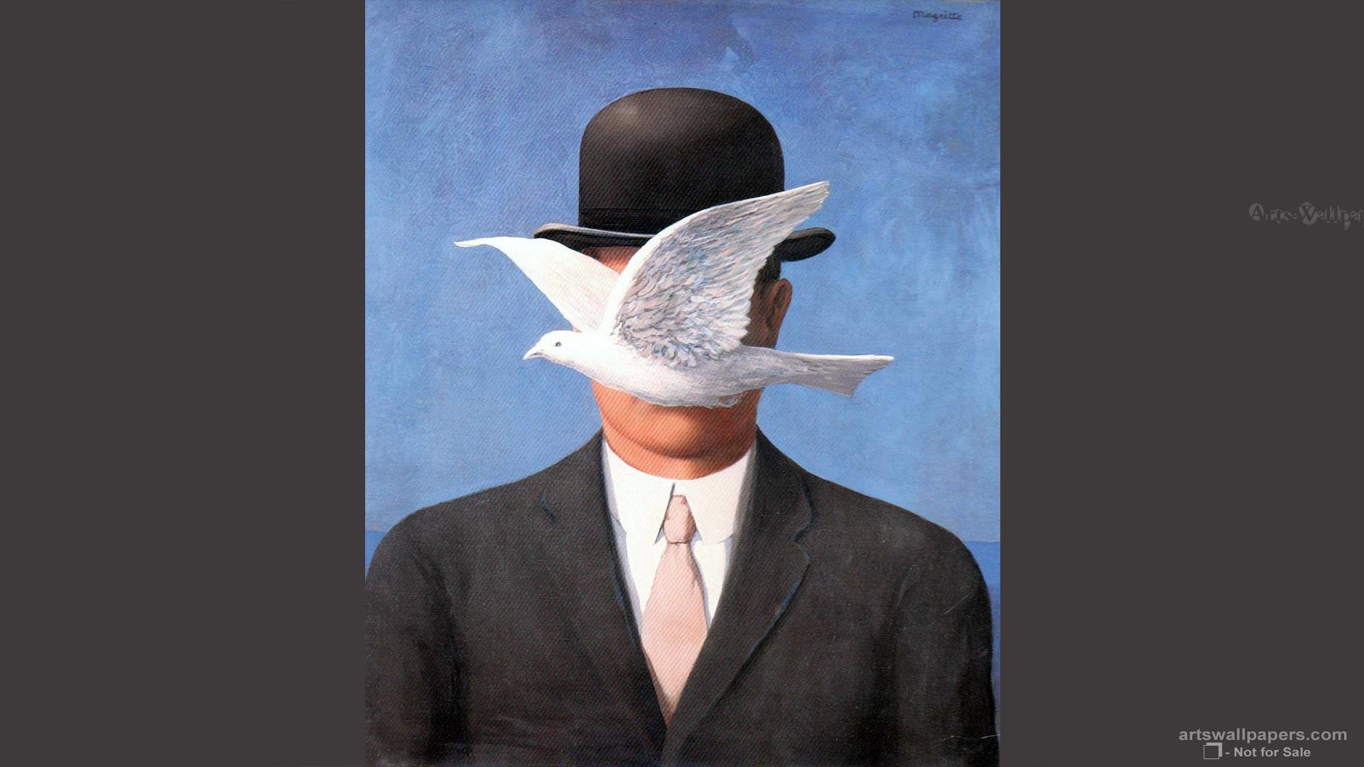 Res: 1920x1080, Rene Magritte Wallpapers Rene Magritte Art Paitning