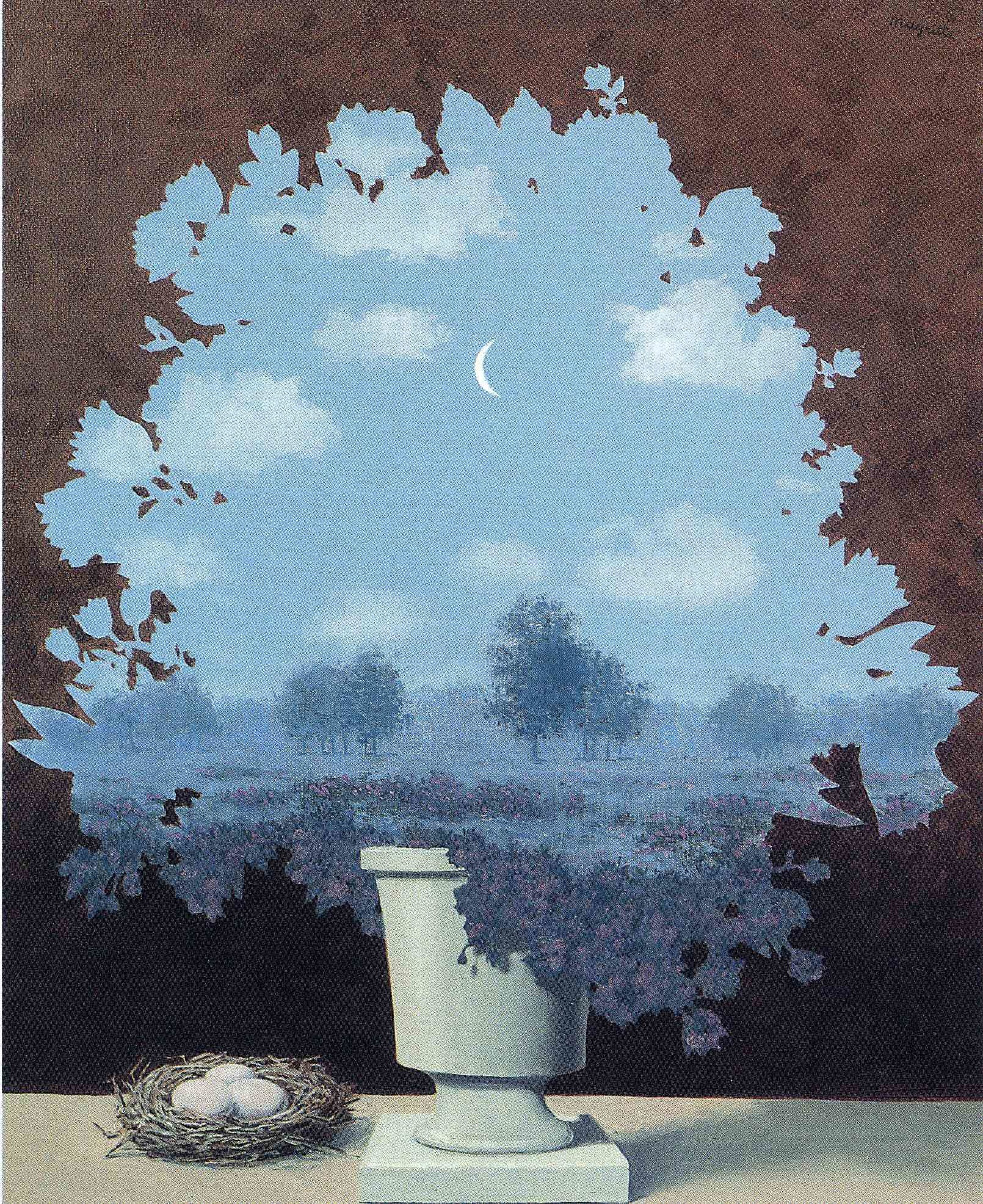 Res: 1610x1972, The Land of Miracles — René Magritte
