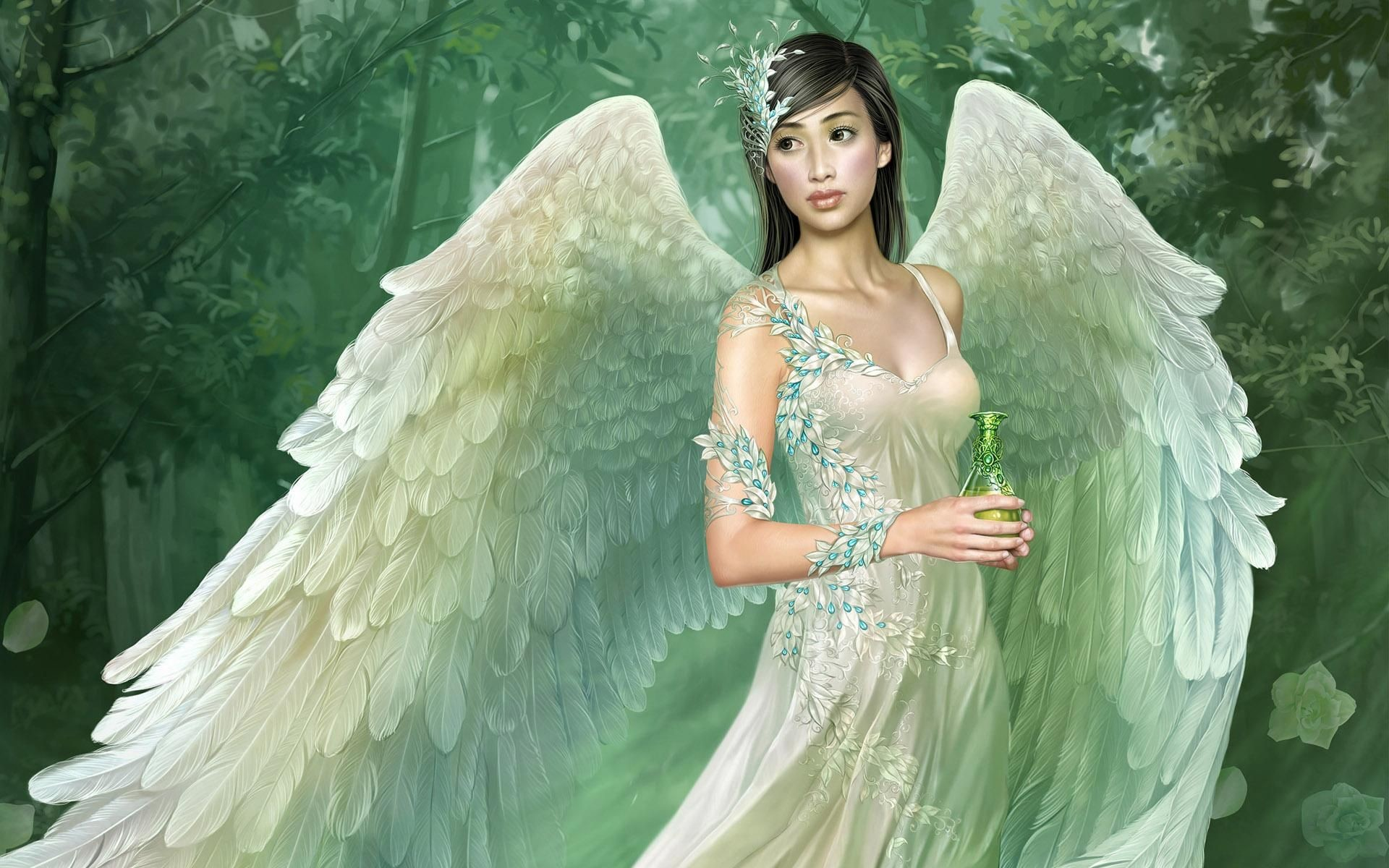 Res: 1920x1200,  Angel Fairy Wallpaper –free Wallpapers Download