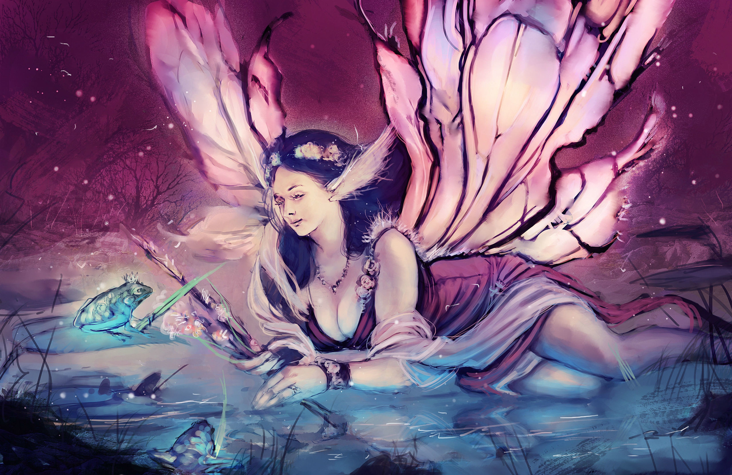 Res: 2560x1660, Fairies Wings Fantasy Girls fairy wallpaper |  | 118278 |  WallpaperUP