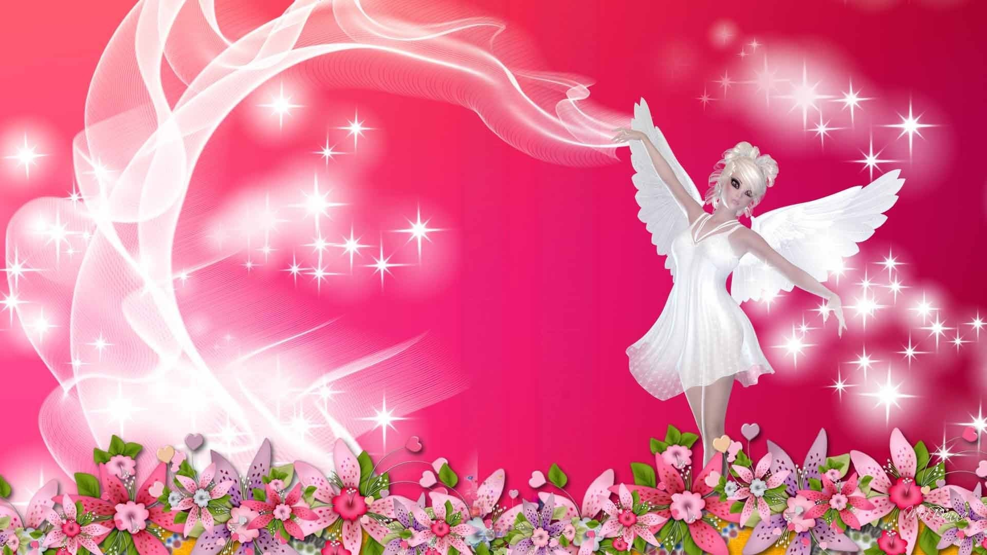 Res: 1920x1080, pink fairy