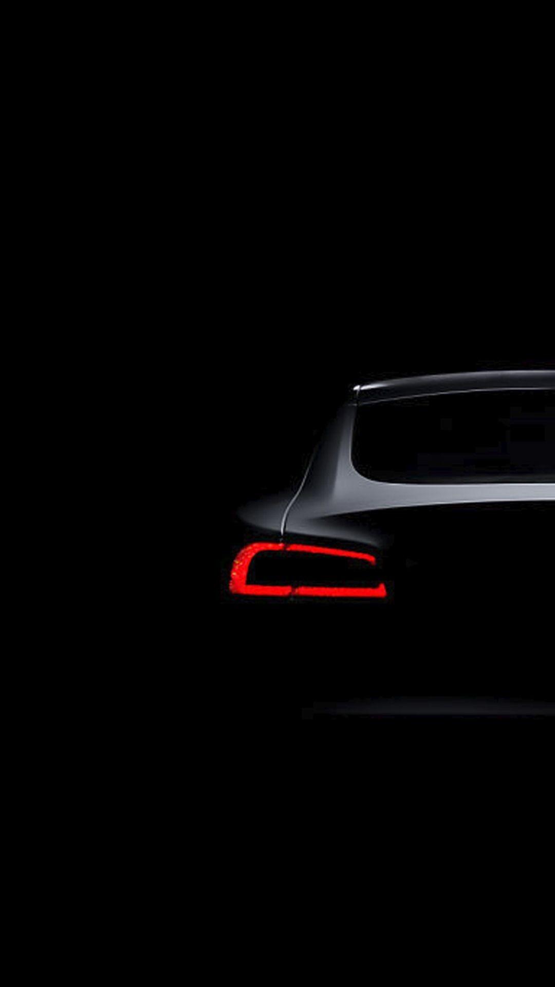 Res: 1080x1920, Tesla Model S Dark Brake Light iPhone 6+ HD Wallpaper
