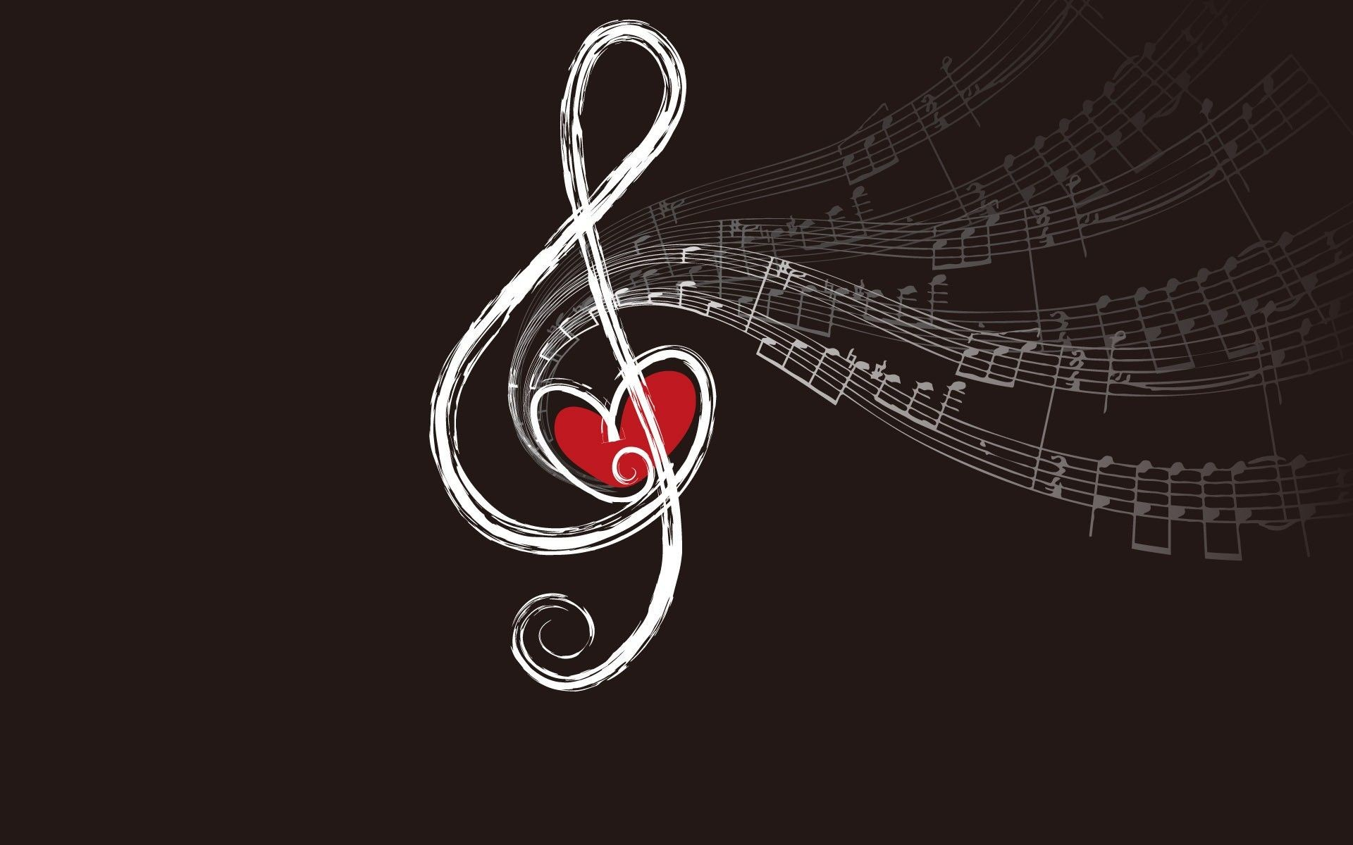 Res: 1920x1200, love-music-wallpaper-Love-Music-Notes-Brown-Background-Fresh-New-Hd- Wallpaper-.jpg (1920×1200)