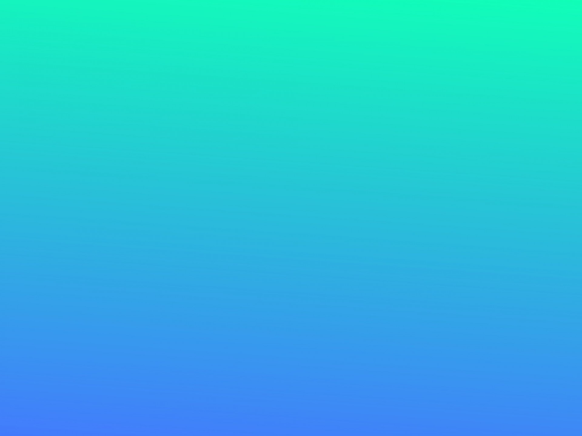 Res: 1920x1440, Aqua Blue Gradient Background