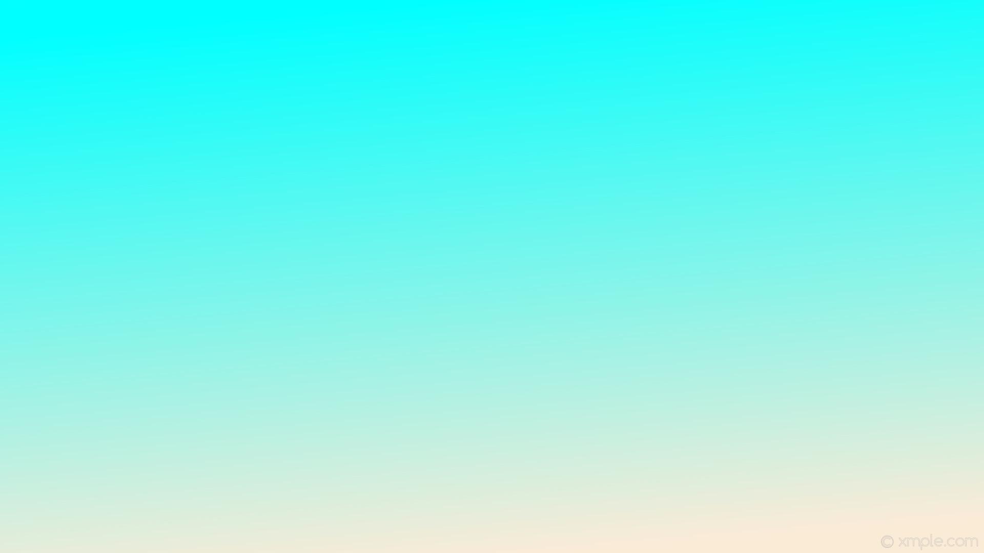 Res: 1920x1080, wallpaper gradient white blue linear antique white aqua cyan #faebd7  #00ffff 285°