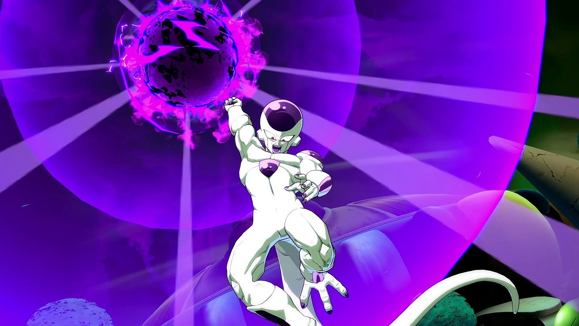 Res: 1920x1080, Dragon Ball Fighterz, Video Game, Video Game Backgrounds, Frieza Death Ball  Dragon Ball