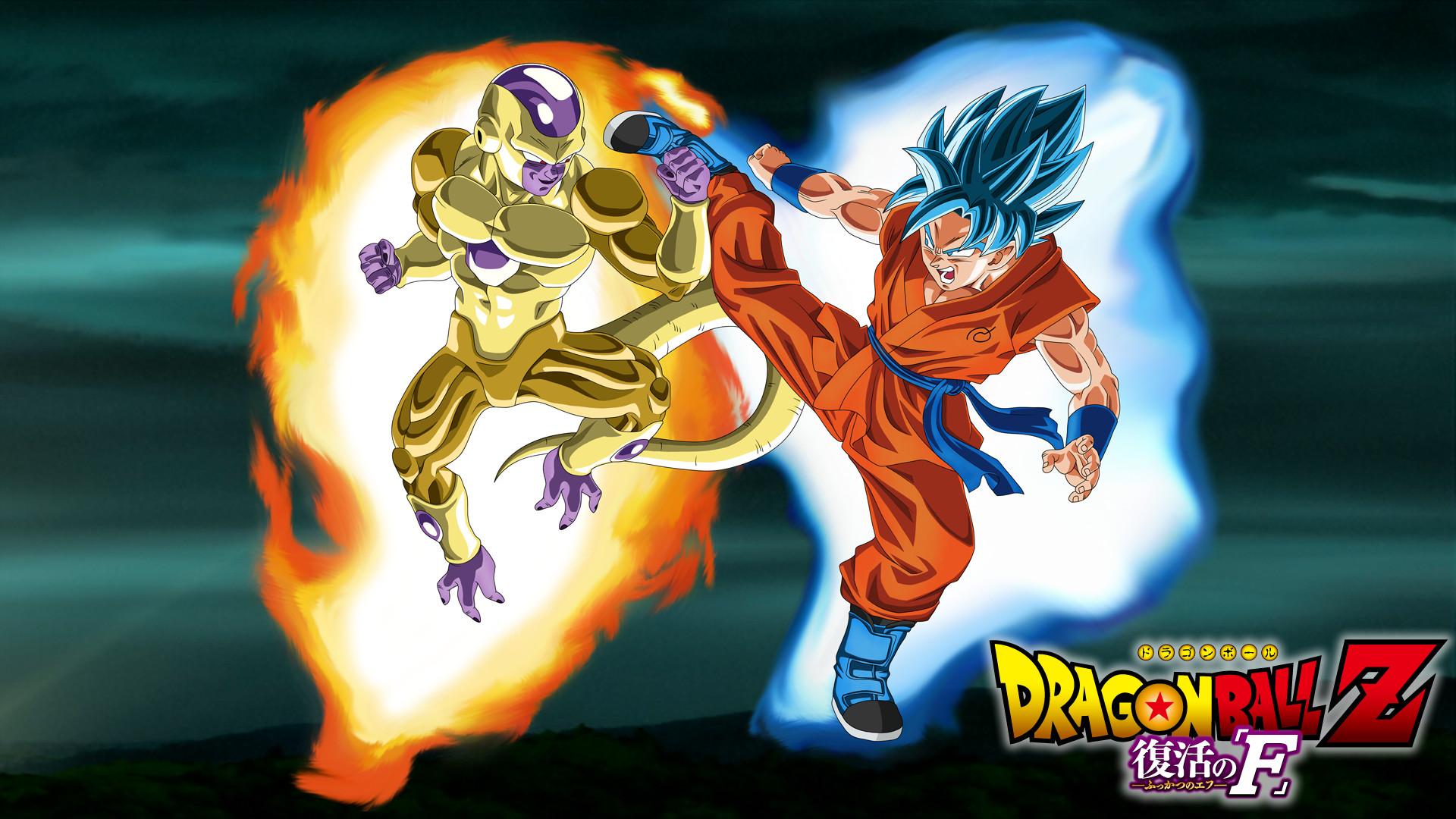 Res: 1920x1080, ... DragonBallAffinity Gold Frieza vs SSGSS Goku Aura  Wallpaper  by DragonBallAffinity