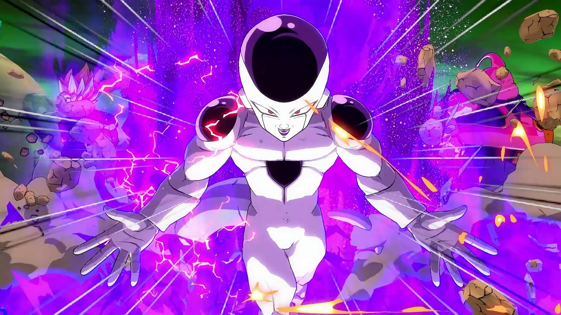 Res: 1920x1080, Frieza Dragon Ball Fighterz Game, Video Game, Dragon Ball Fighterz, Video  Game Backgrounds