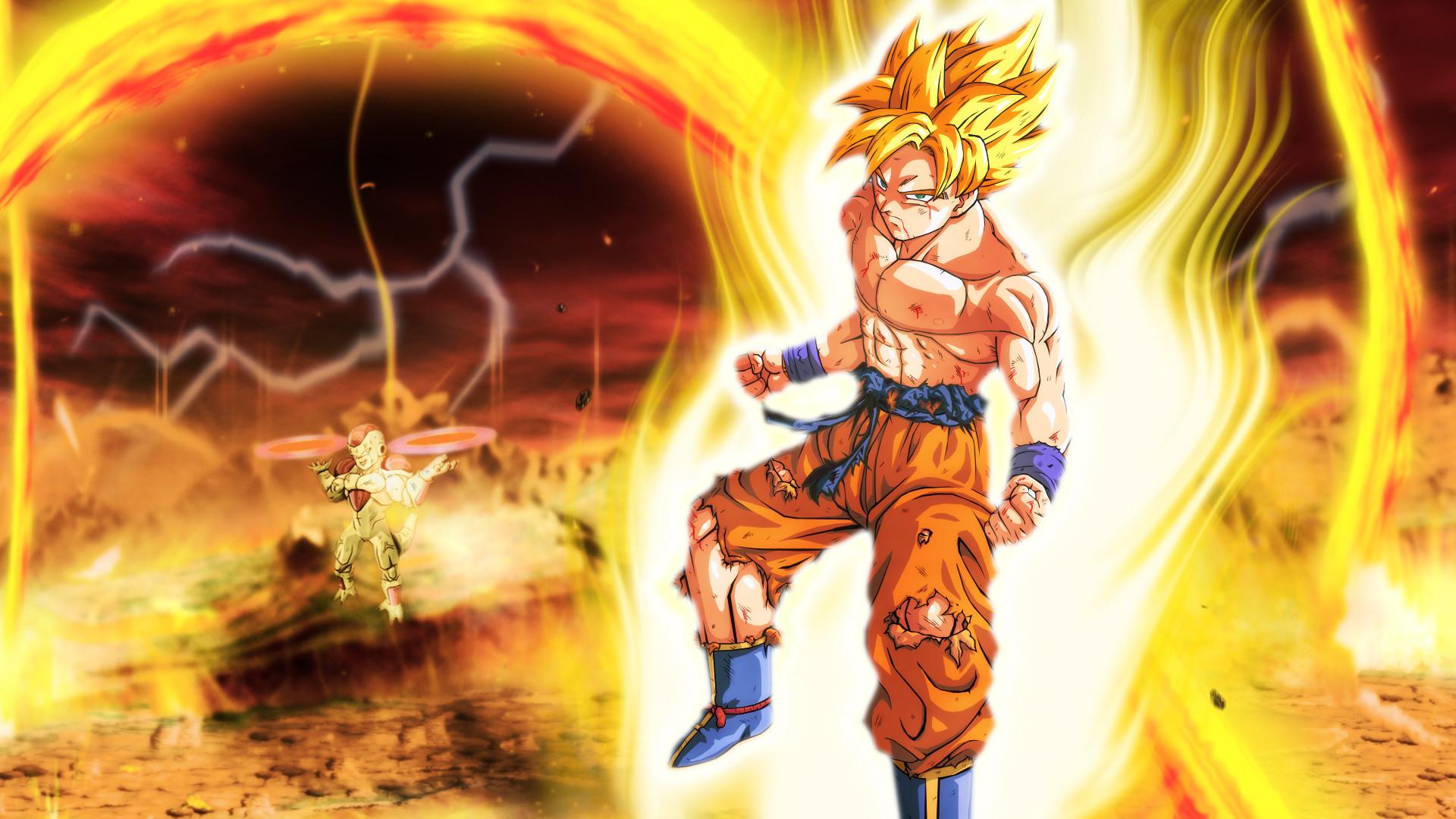 Res: 1920x1080, Billysan291 30 2 Goku vs Frieza Final Round HD by Billysan291