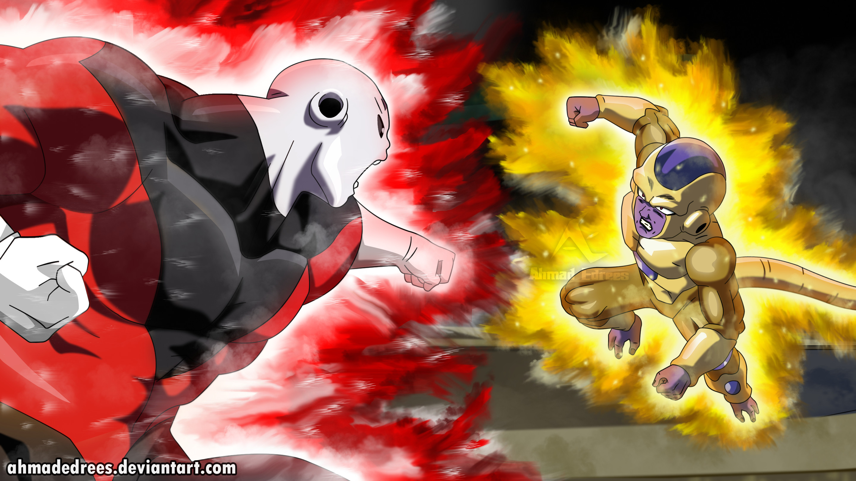 Res: 2880x1620, Goku-Kakarot 169 33 Jiren vs golden frieza by AhmadEdrees