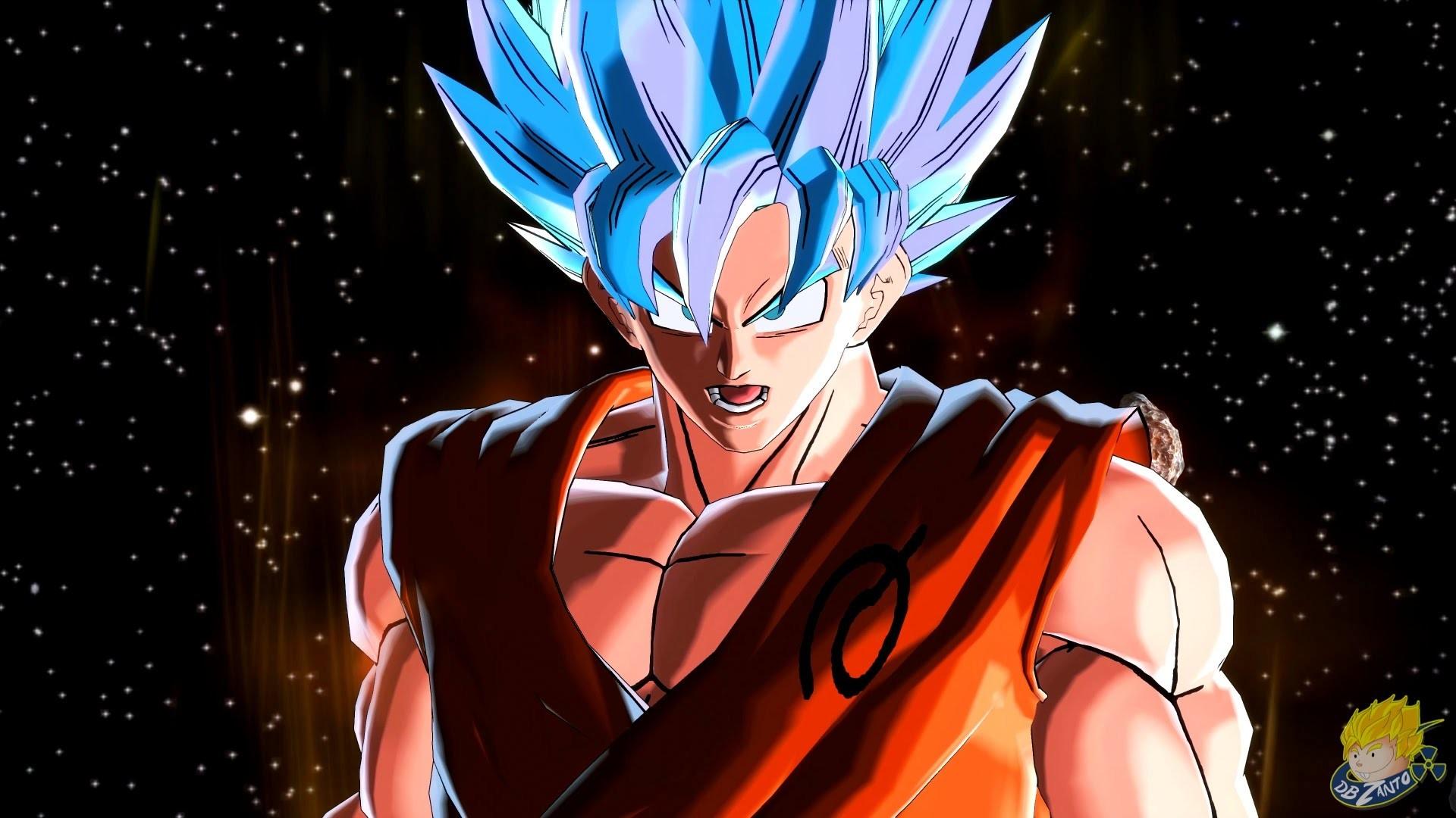 Res: 1920x1080, Dragon Ball Xenoverse (PC): SSGSS Goku Vs Golden Frieza Gameplay [MOD]  【60FPS 1080P】 - YouTube