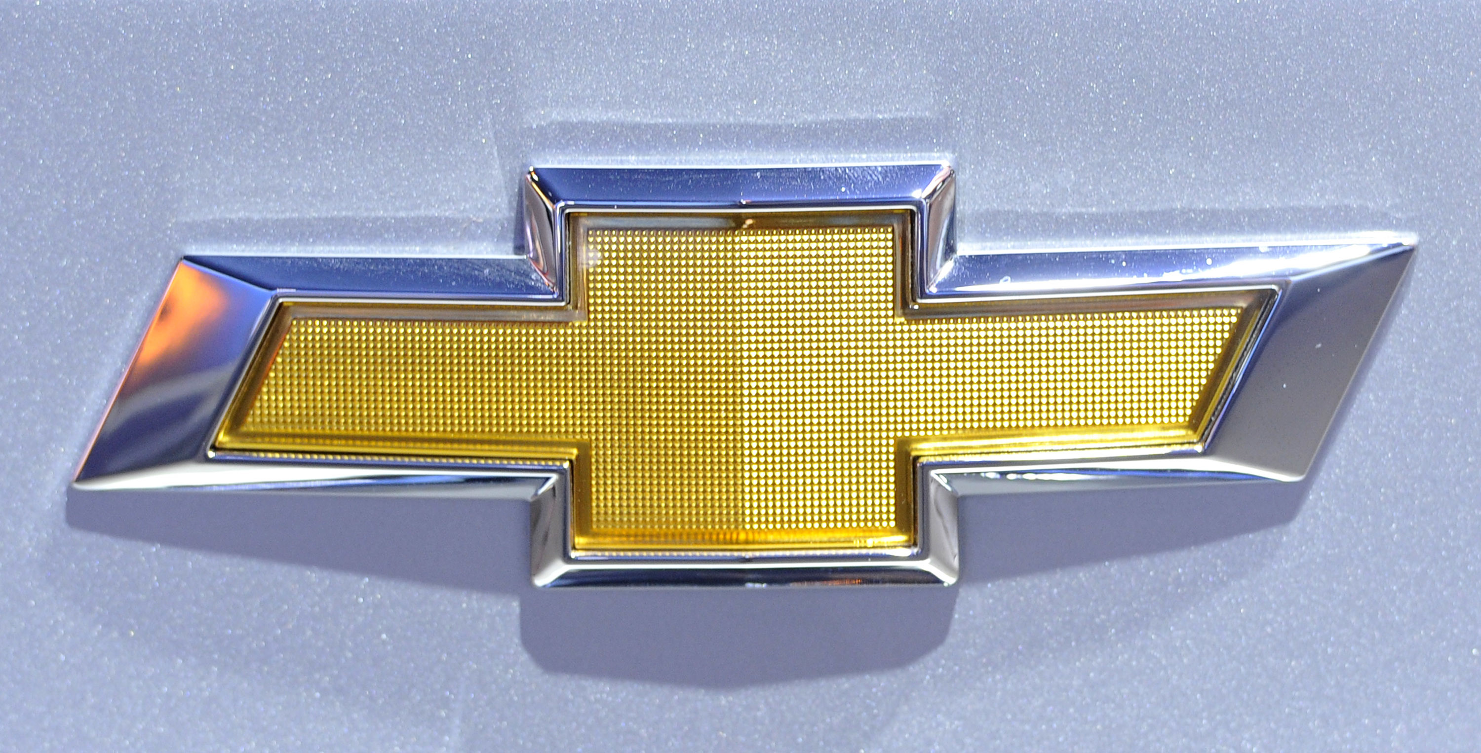 Res: 3000x1526, The logo for Chevrolet on display at the Chicago Auto Show