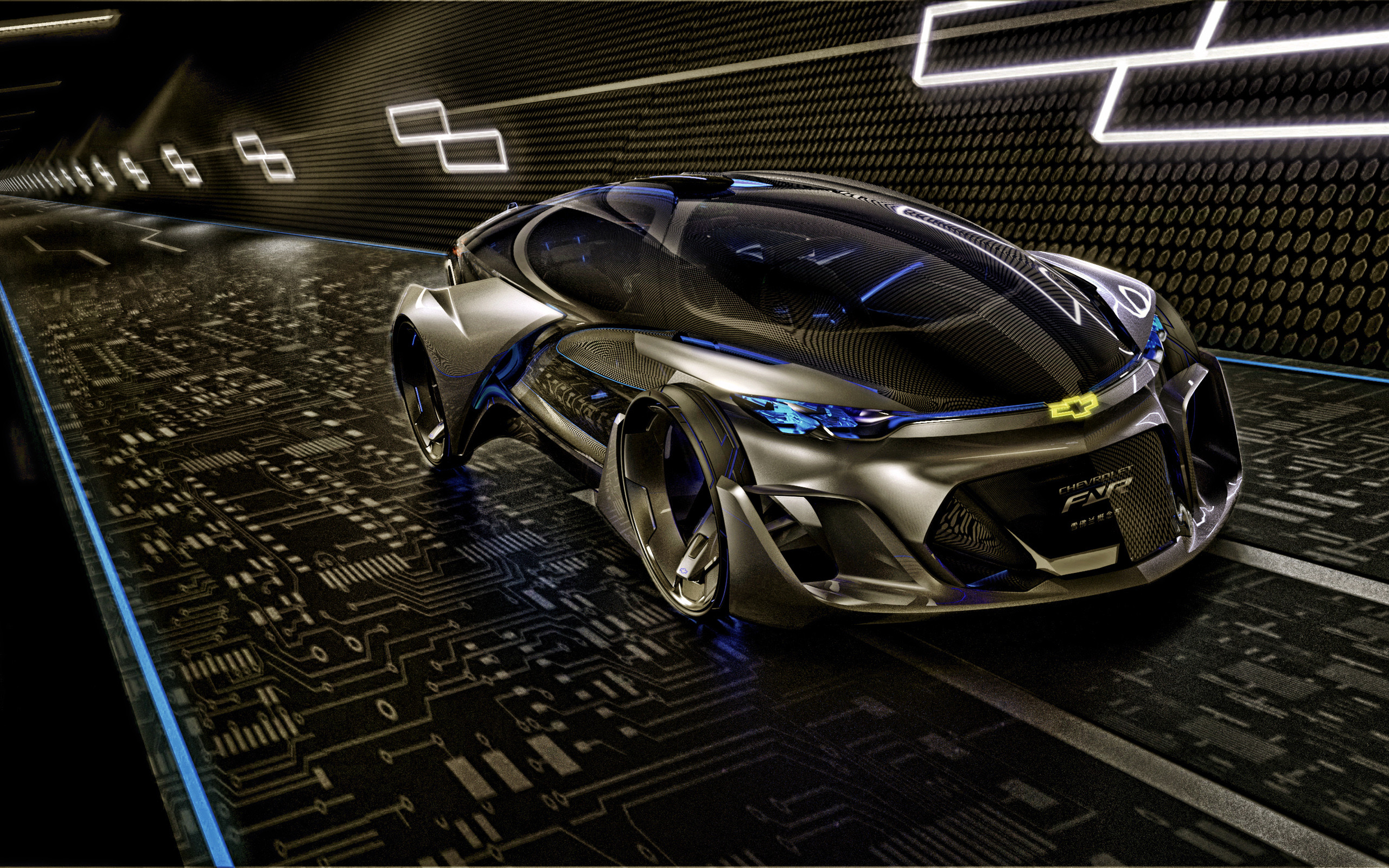 Res: 2560x1600, 2015 Chevrolet FNR Concept Wallpaper