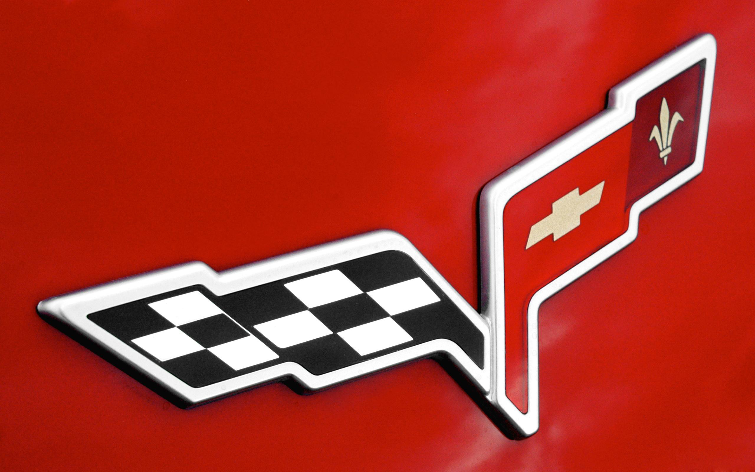 Res: 2560x1600, Best Corvette Logo Wallpapers.