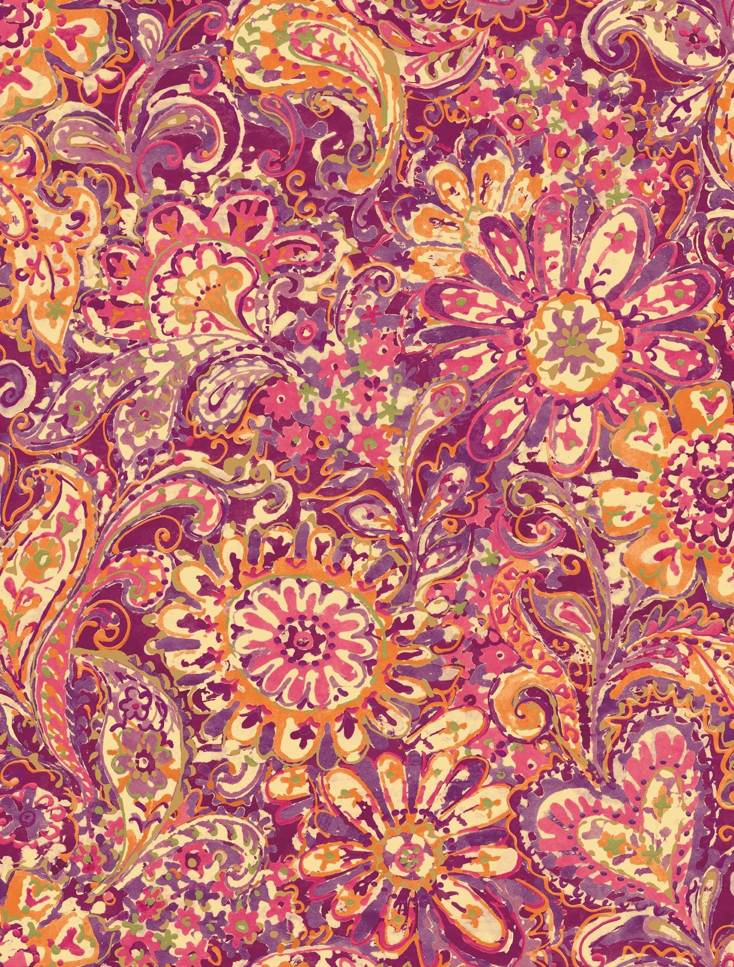 Res: 1476x1944, Paisley Wallpaper