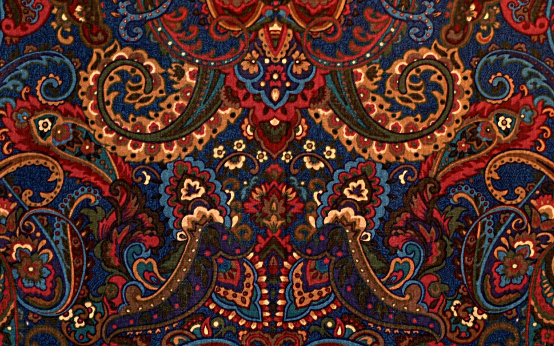 Res: 1920x1200, Red Paisley Wallpaper, FU.133