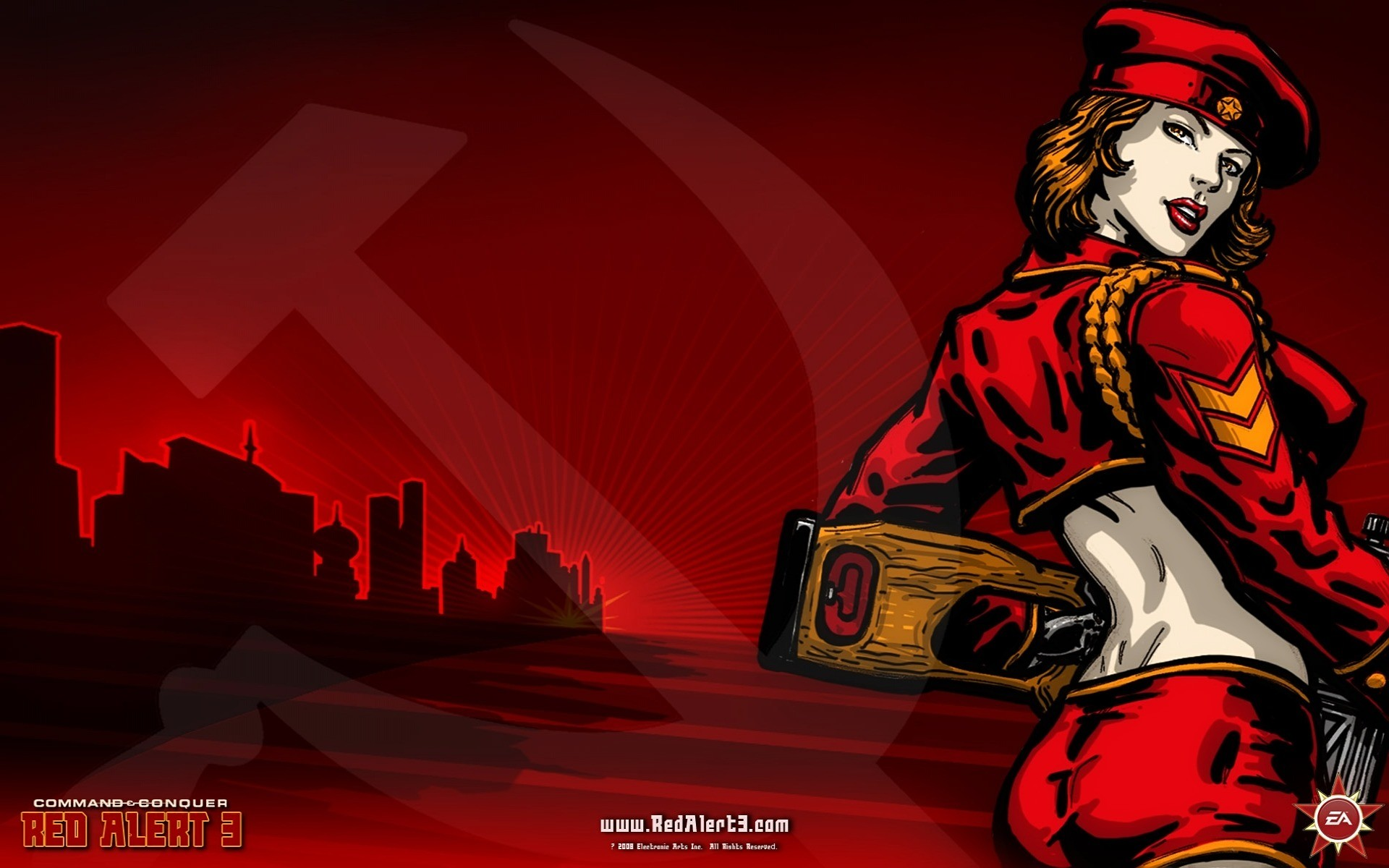 Res: 1920x1200, Red Alert 3 Natasha Wallpaper Red Alert 3 Games