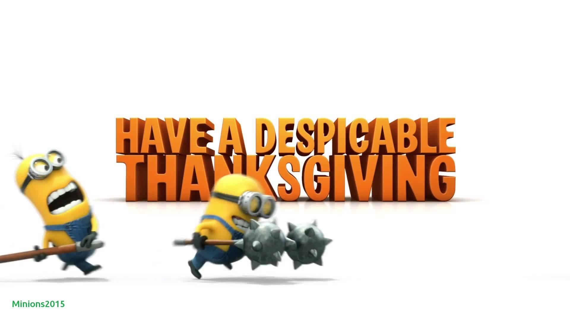 Res: 1920x1080, Luxury Thanksgiving-minion