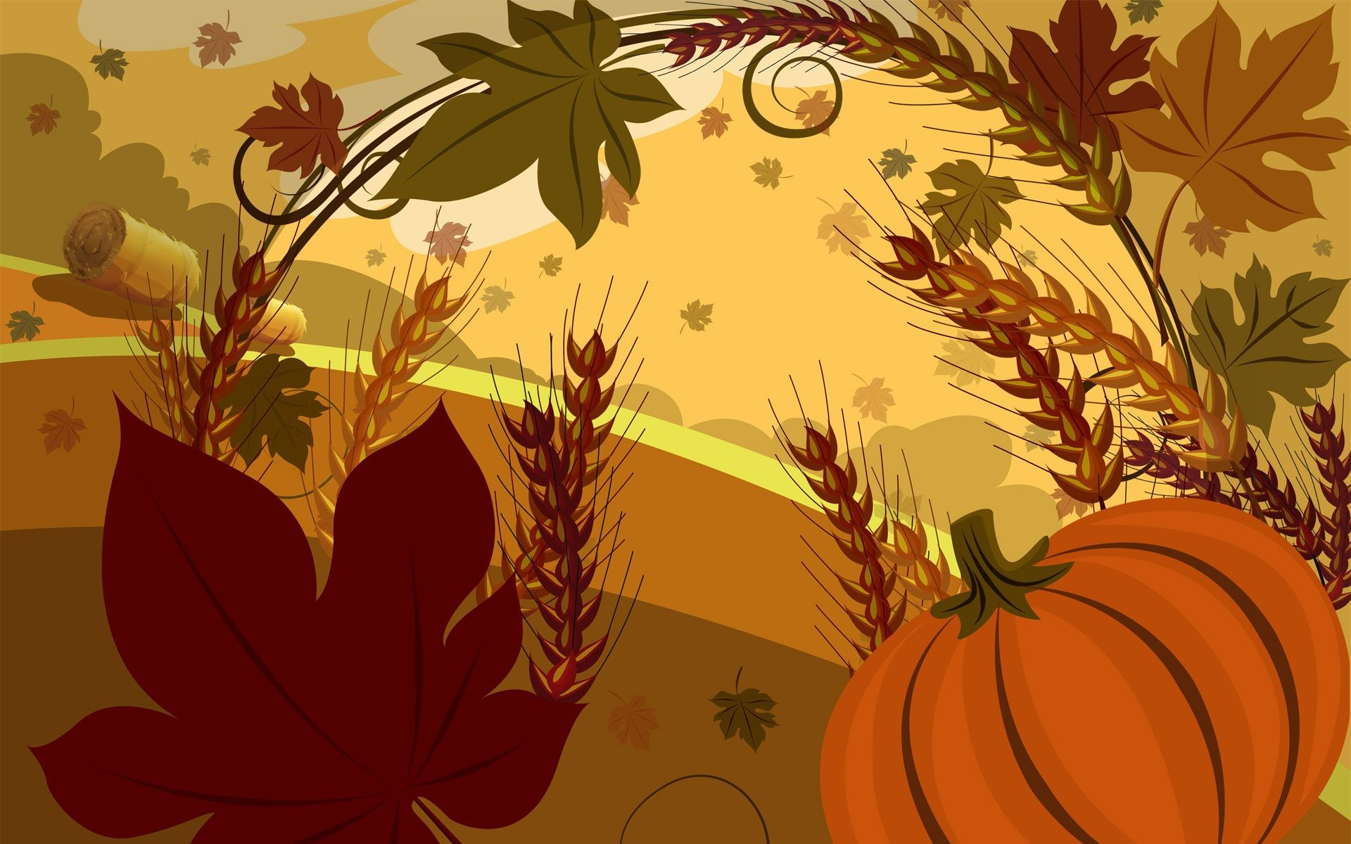 Res: 1920x1200, Free Happy Thanksgiving Wallpapers Wallpaper | HD Wallpapers | Pinterest | Thanksgiving  wallpaper, Wallpaper and Holiday wallpaper