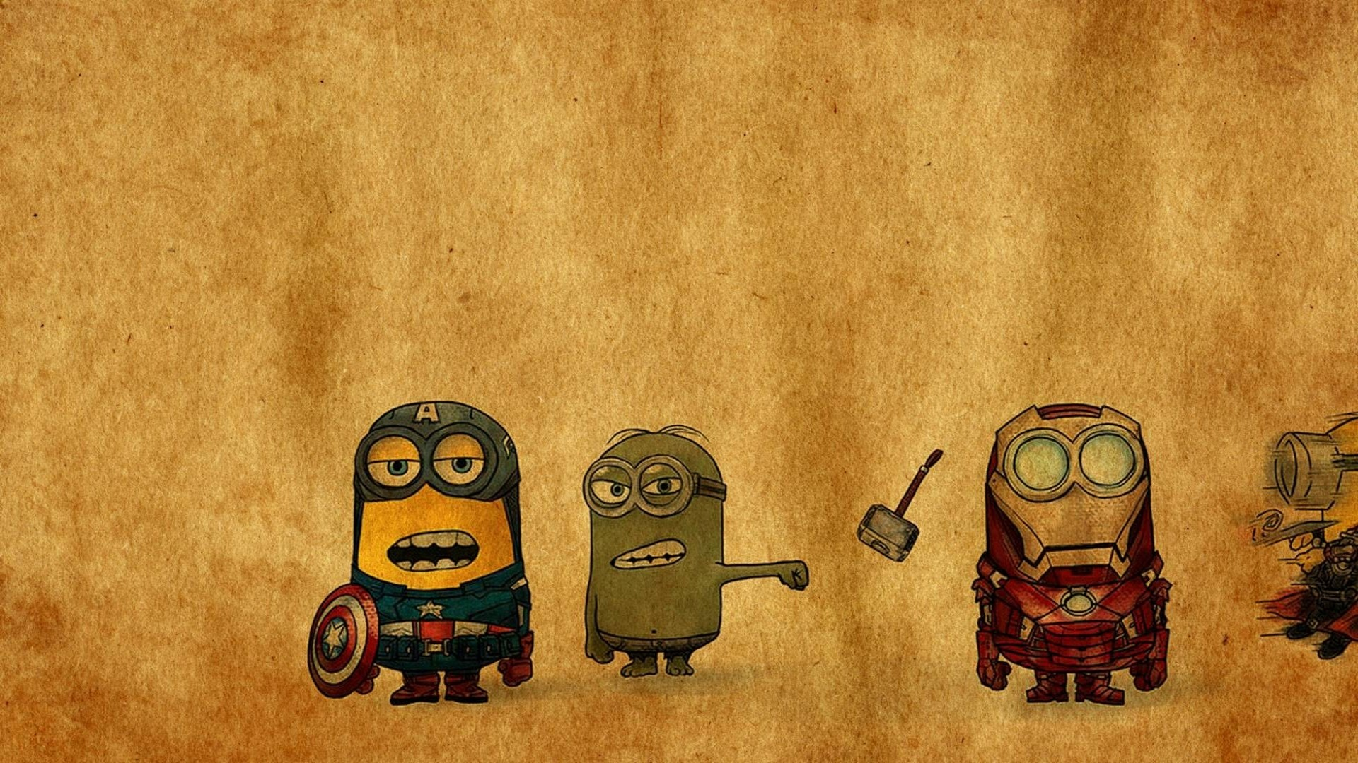 Res: 1920x1080, Funny Minion Wallpapers HD Free Download.