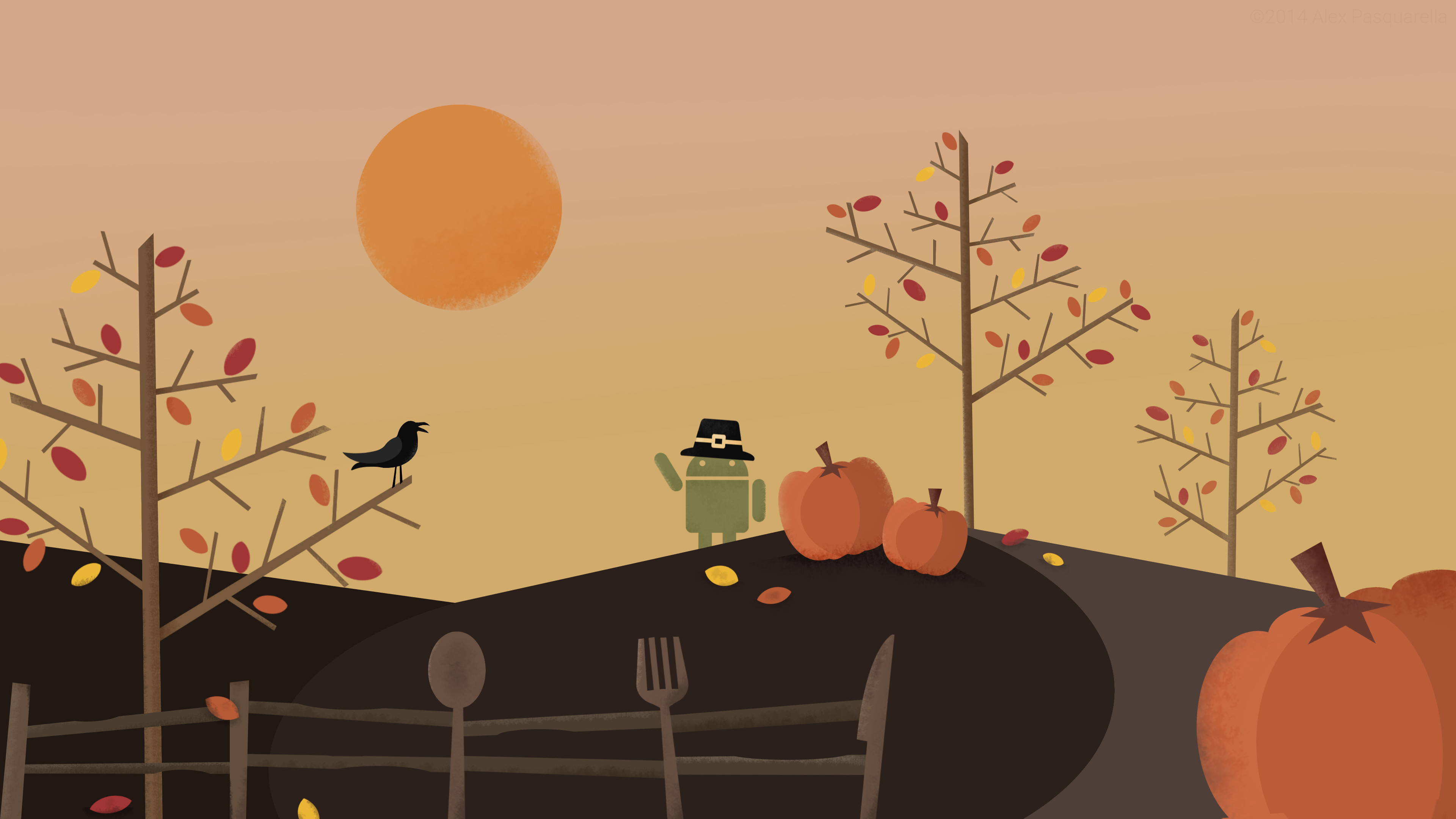 Res: 3840x2160, Thanksgiving Wallpaper 2016 Dr. Odd - HD Wallpapers