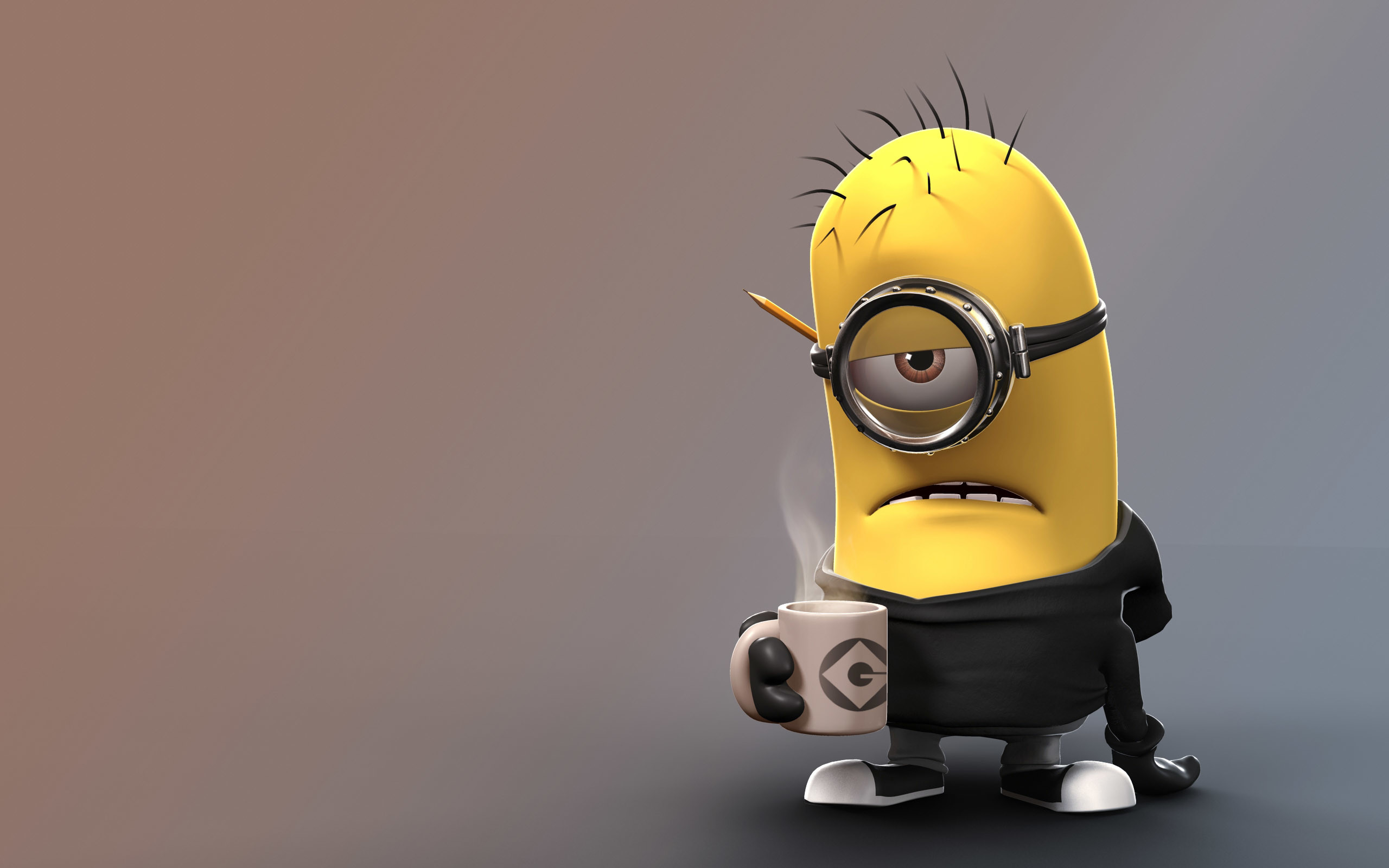 Res: 2560x1600, [Cartoons] A Cute Collection Of Despicable Me 2 Minions | Wallpapers,  Images & Fan Art