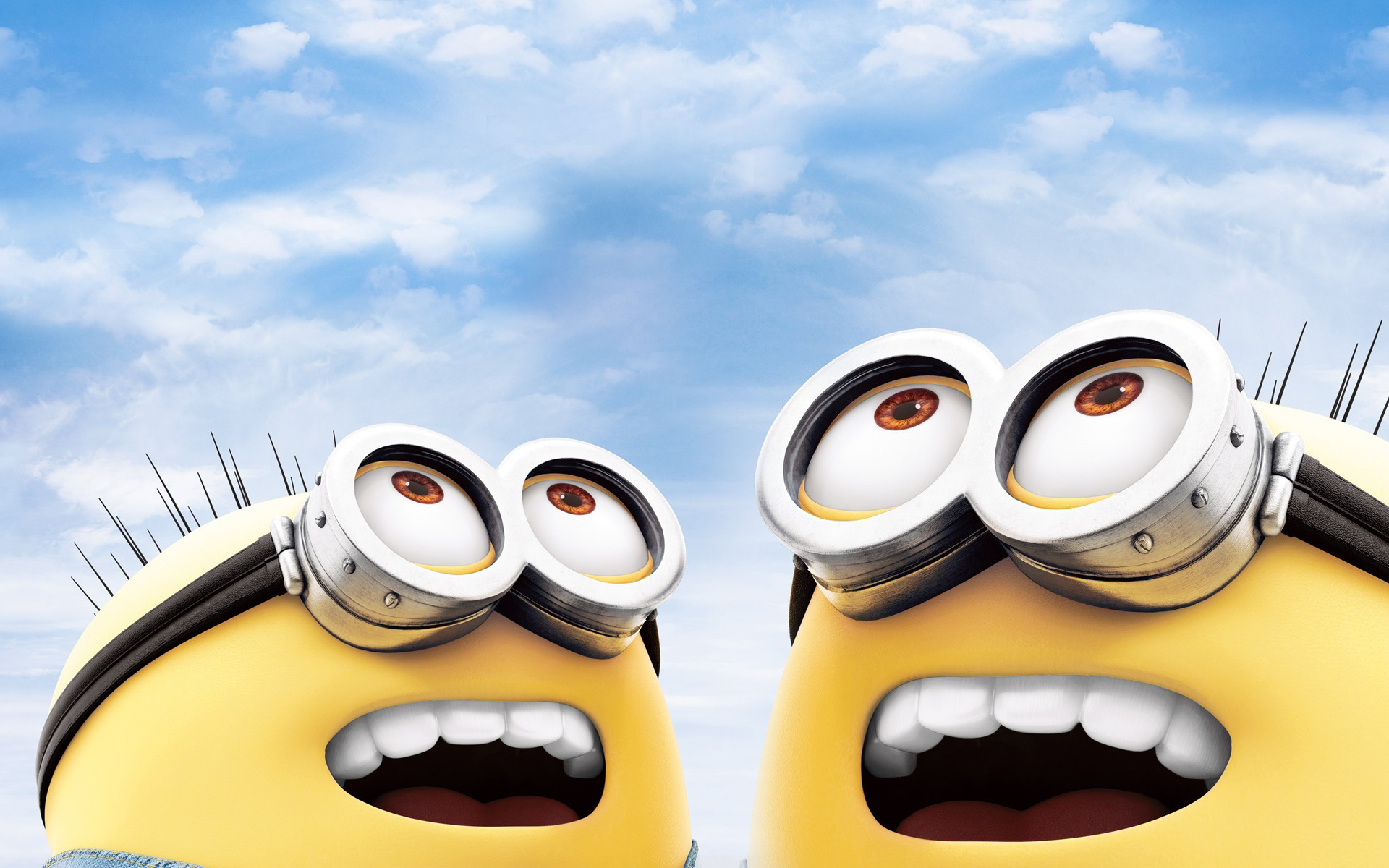 Res: 1920x1200, Cute Minion Blackgrounds Pictures Download.