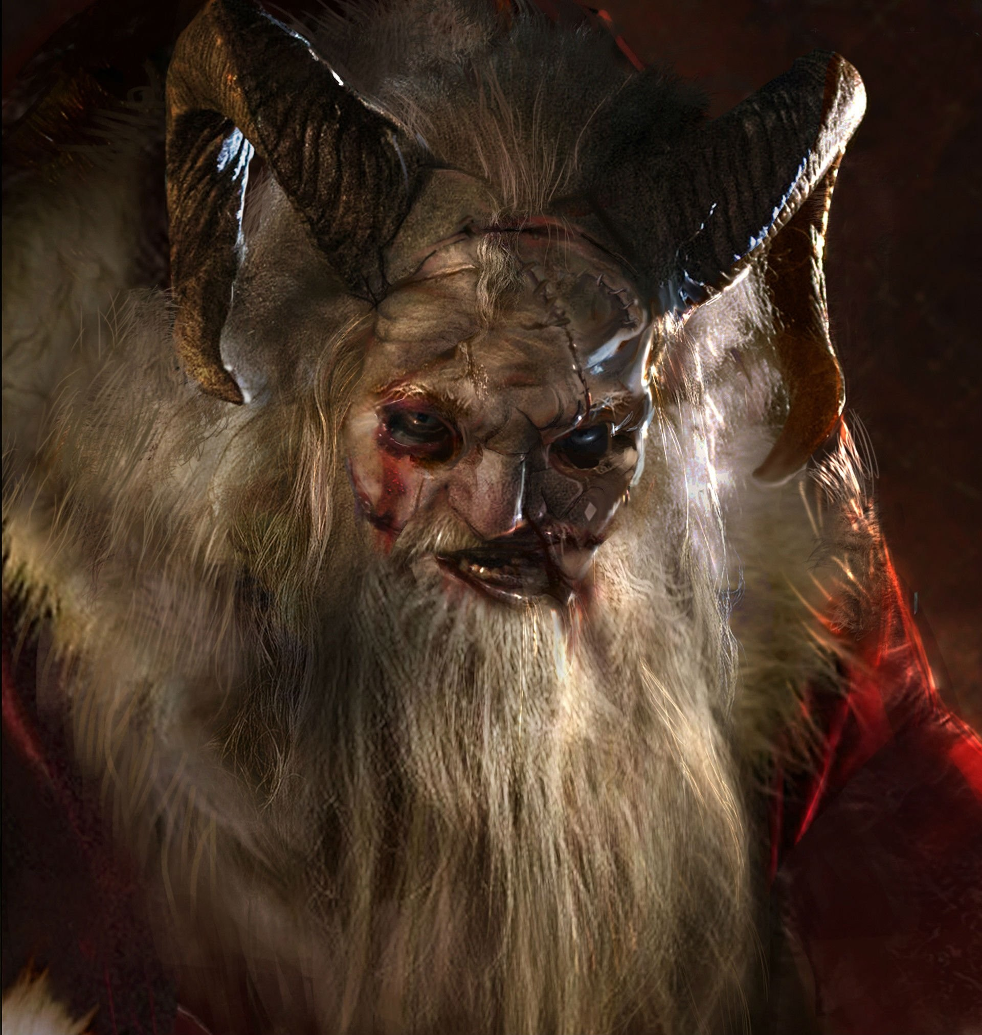 Res: 1920x2025, horror demon, occult, christmas, monster, dark, darknes wallpapers, windows  desktop images, hd vectors, evil, story,krampus, personal use,download  Wallpaper ...