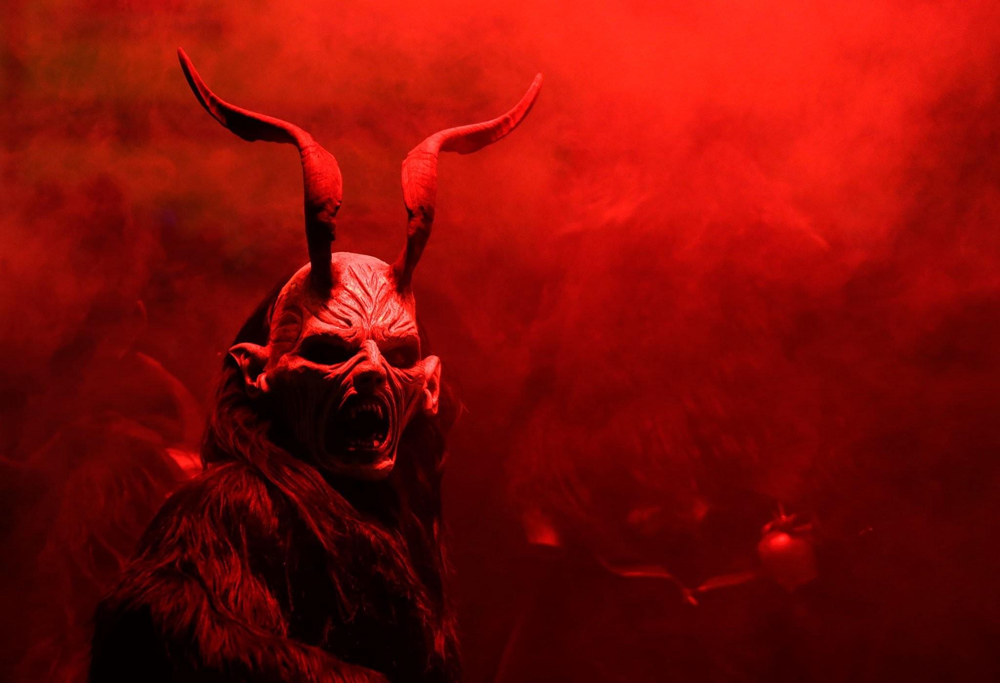 Res: 2048x1398, storyr, demon, evil backgrounds, artwork, christmas, horror, occult,  dark,krampus, high resolution,download, monster, hd art wallpapers Wallpaper  HD