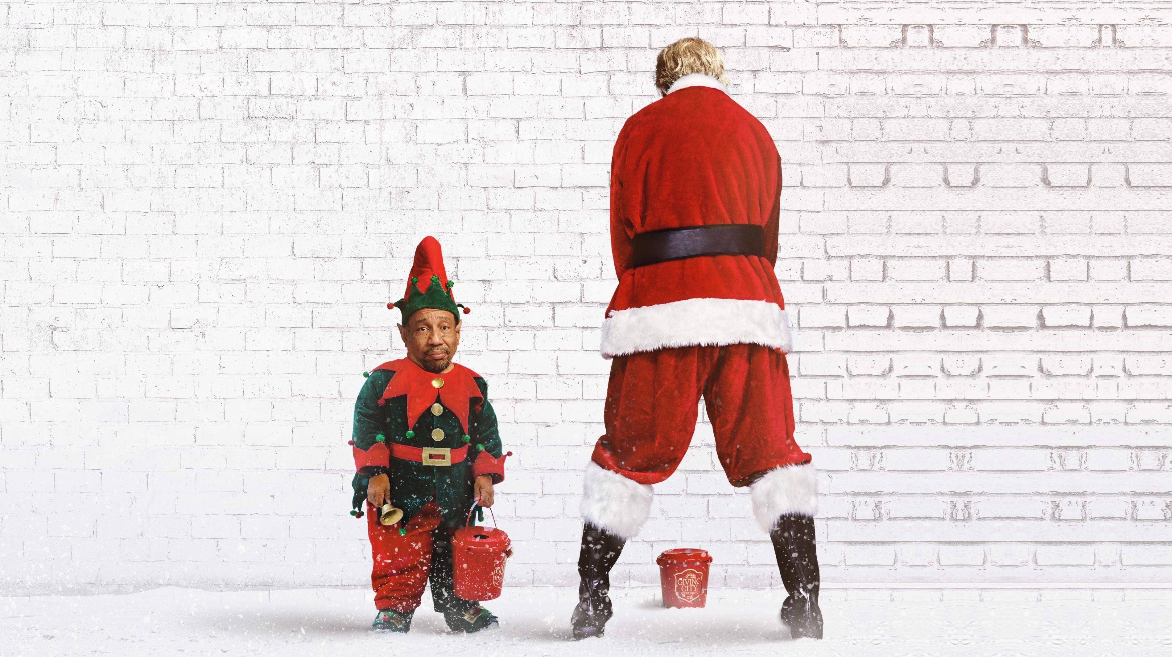Res: 3800x2132, Wallpaper Bad Santa 2, santa, christmas, Billy Bob .