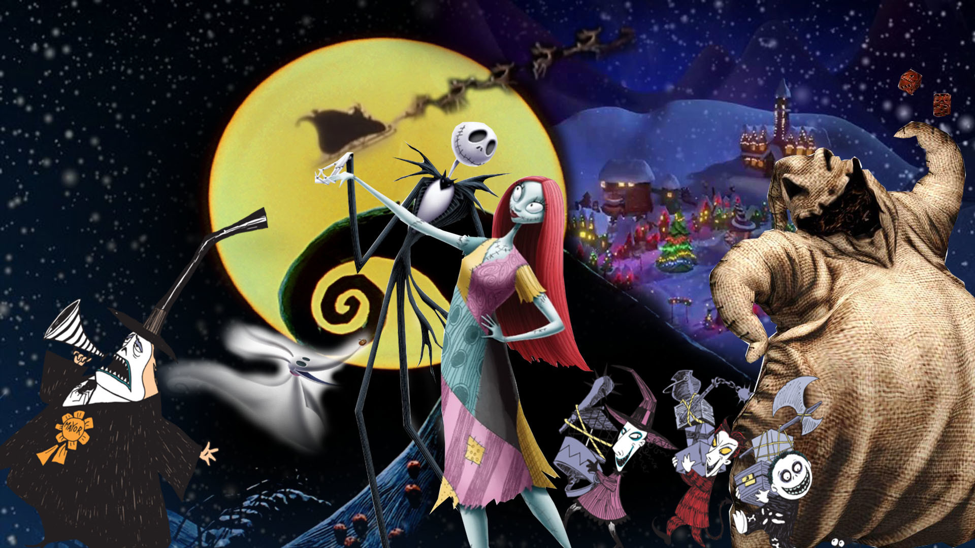 Res: 1920x1080, The Nightmare Before Christmas Wallpaper by The-Dark-Mamba-995