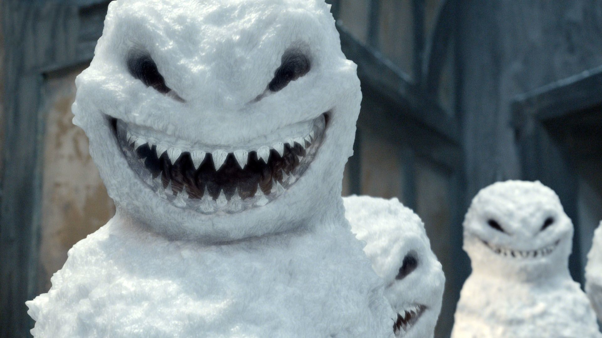 Res: 1920x1080, Merry Christmas from the Doctor's newest enemies - evil snowmen.
