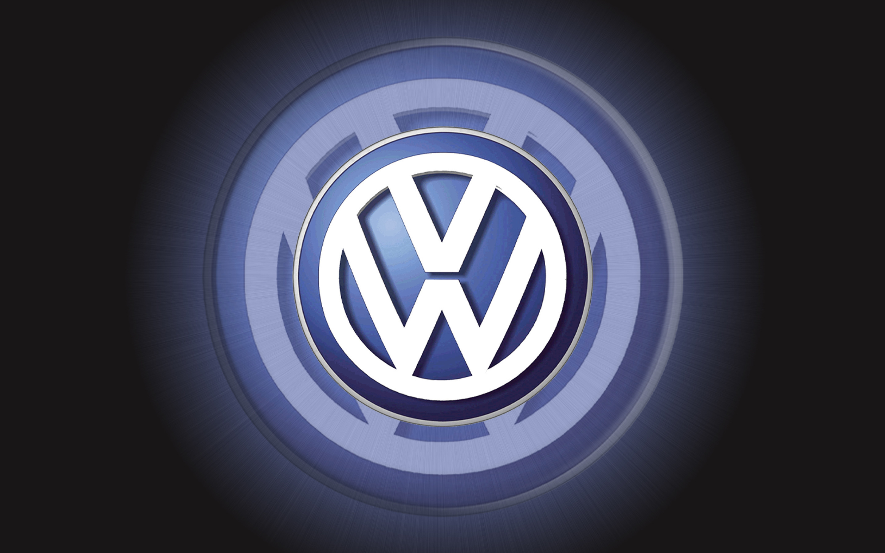 Res: 2880x1800,  3D VW Logo iPhone Wallpaper