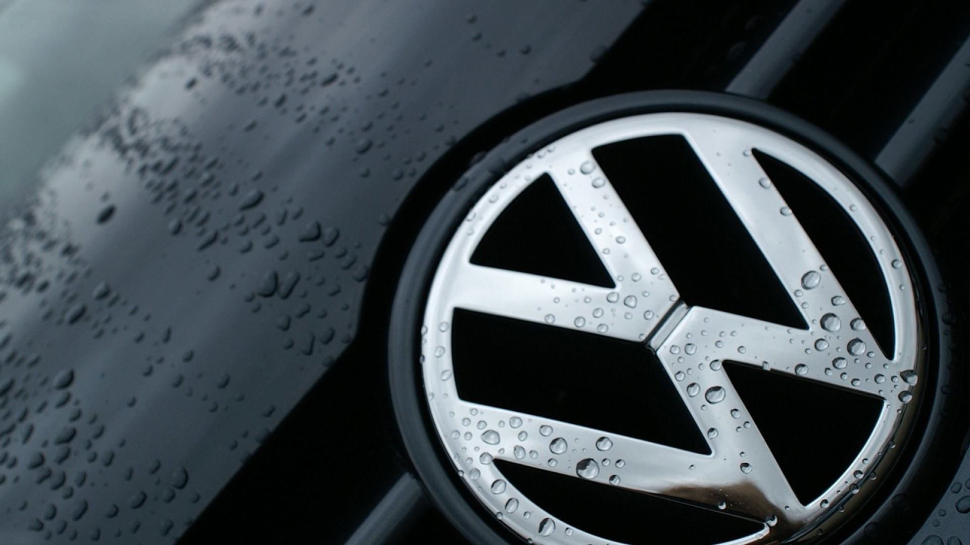 Res: 1920x1080, Volkswagen Wallpaper Black Ground Wallpaper Vw Logo Wallpaper