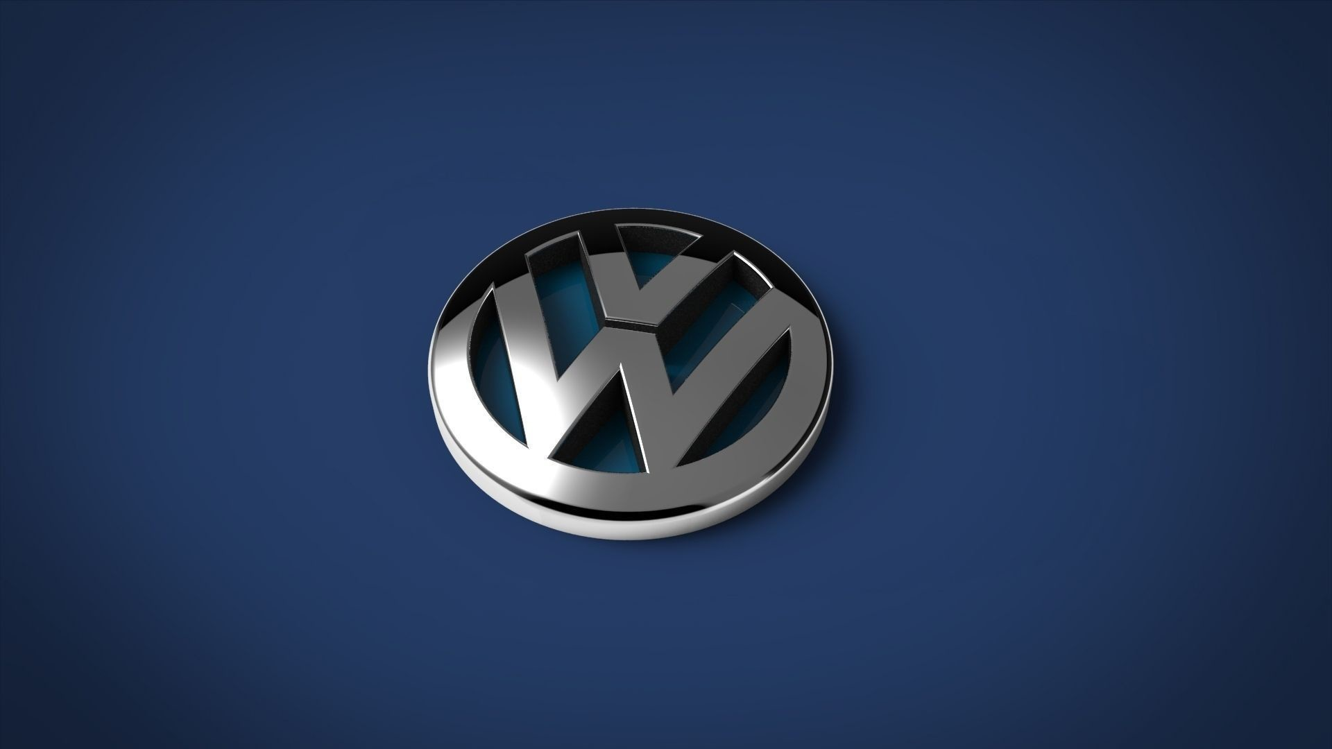 Res: 1920x1080, volkswagen logo 3d wallpaper