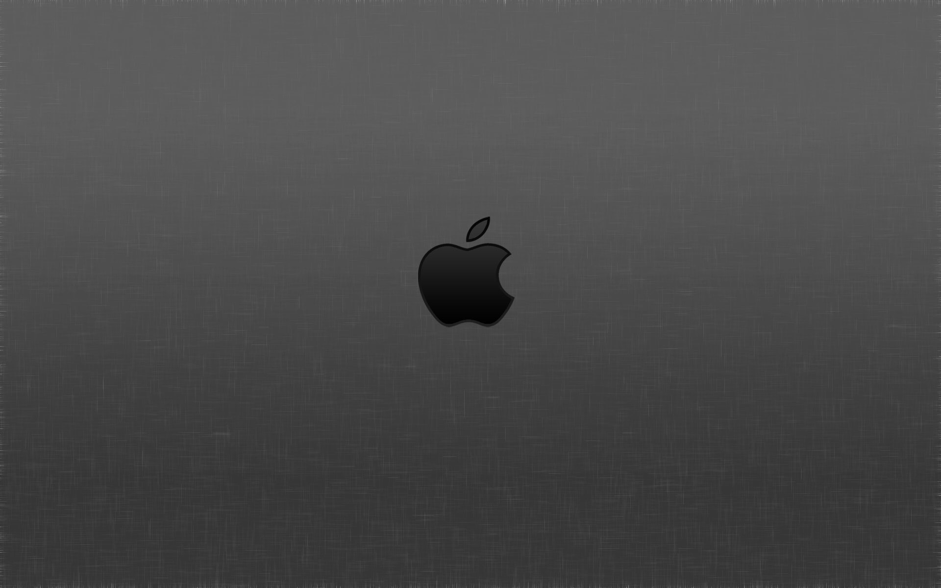 Res: 1920x1200, Gray Apple Logo Wallpaper