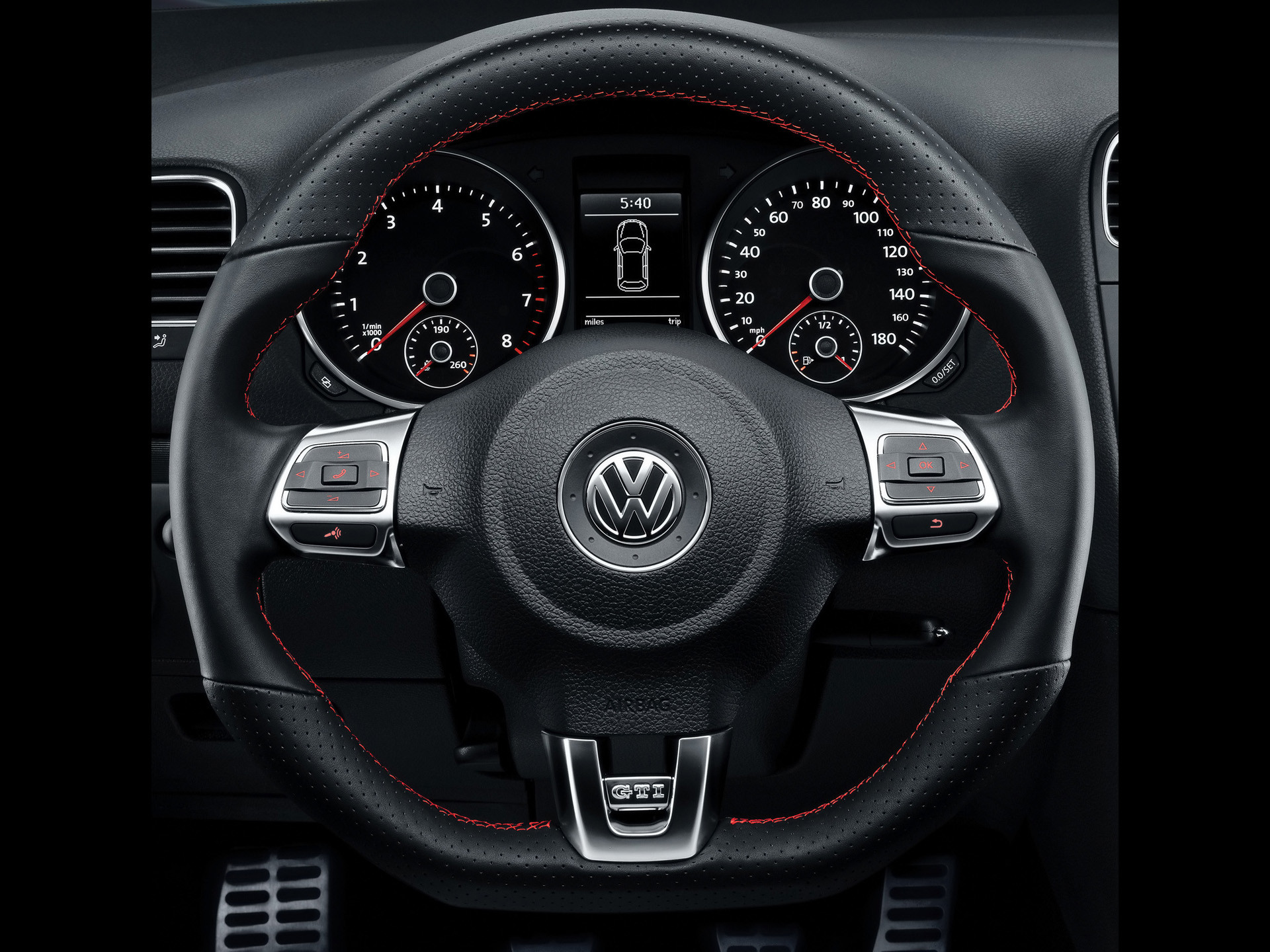 Res: 1920x1440, Volkswagen Interior Car Steering Wheel Wallpaper For Android