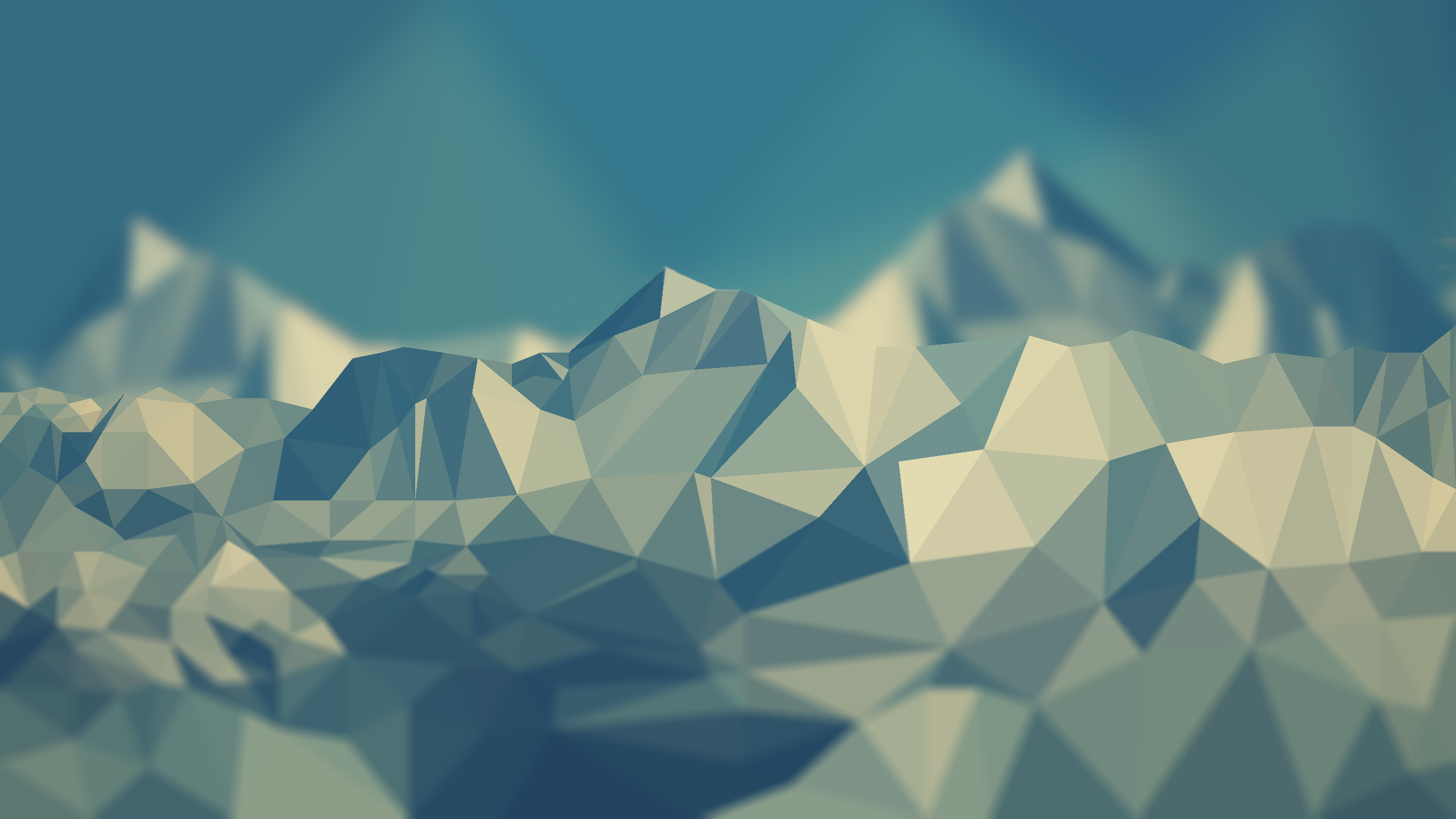 Res: 2560x1440, My favorite low poly wallpaper ...