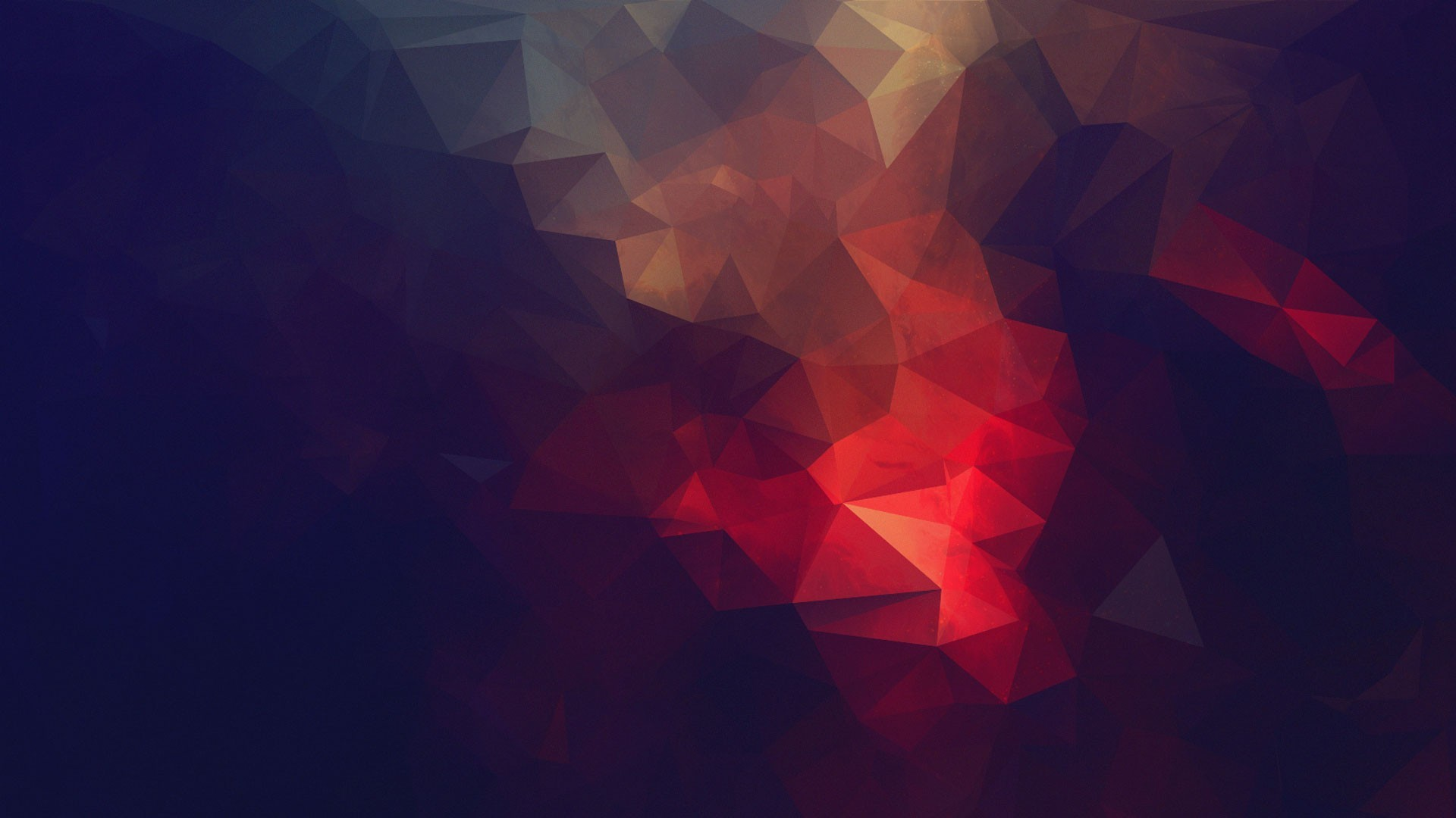 Res: 1920x1080, wallpaper abstract · minimalism · low poly