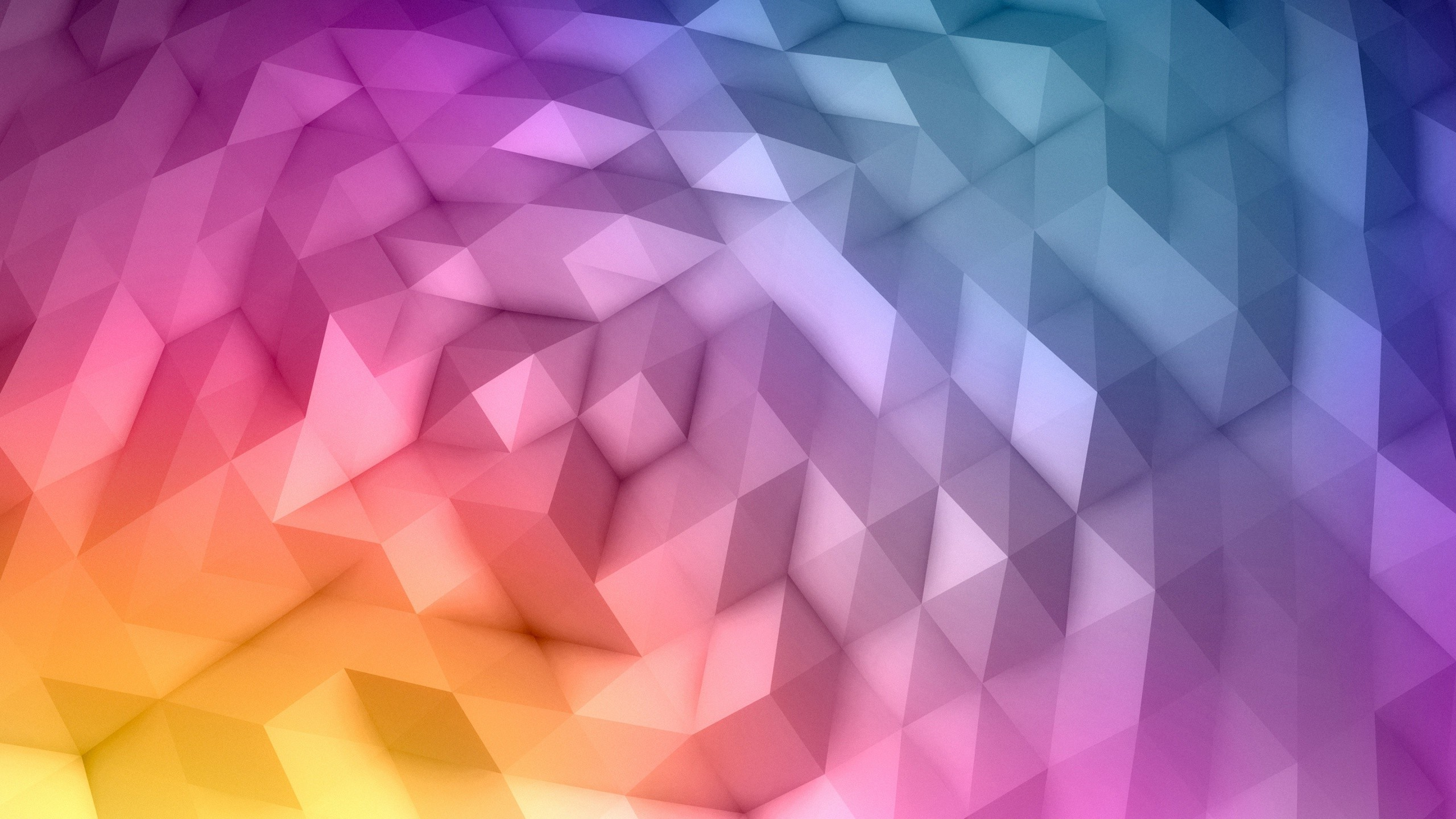 Res: 2560x1440, Abstract Low Poly Wallpapers Hd Desktop And Mobile Backgrounds