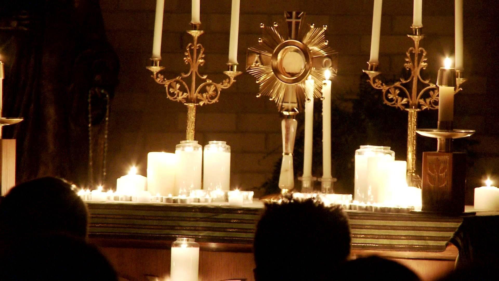 Res: 1920x1080, Eucharistic Adoration at Catholic Underground | +++Eucharistic .