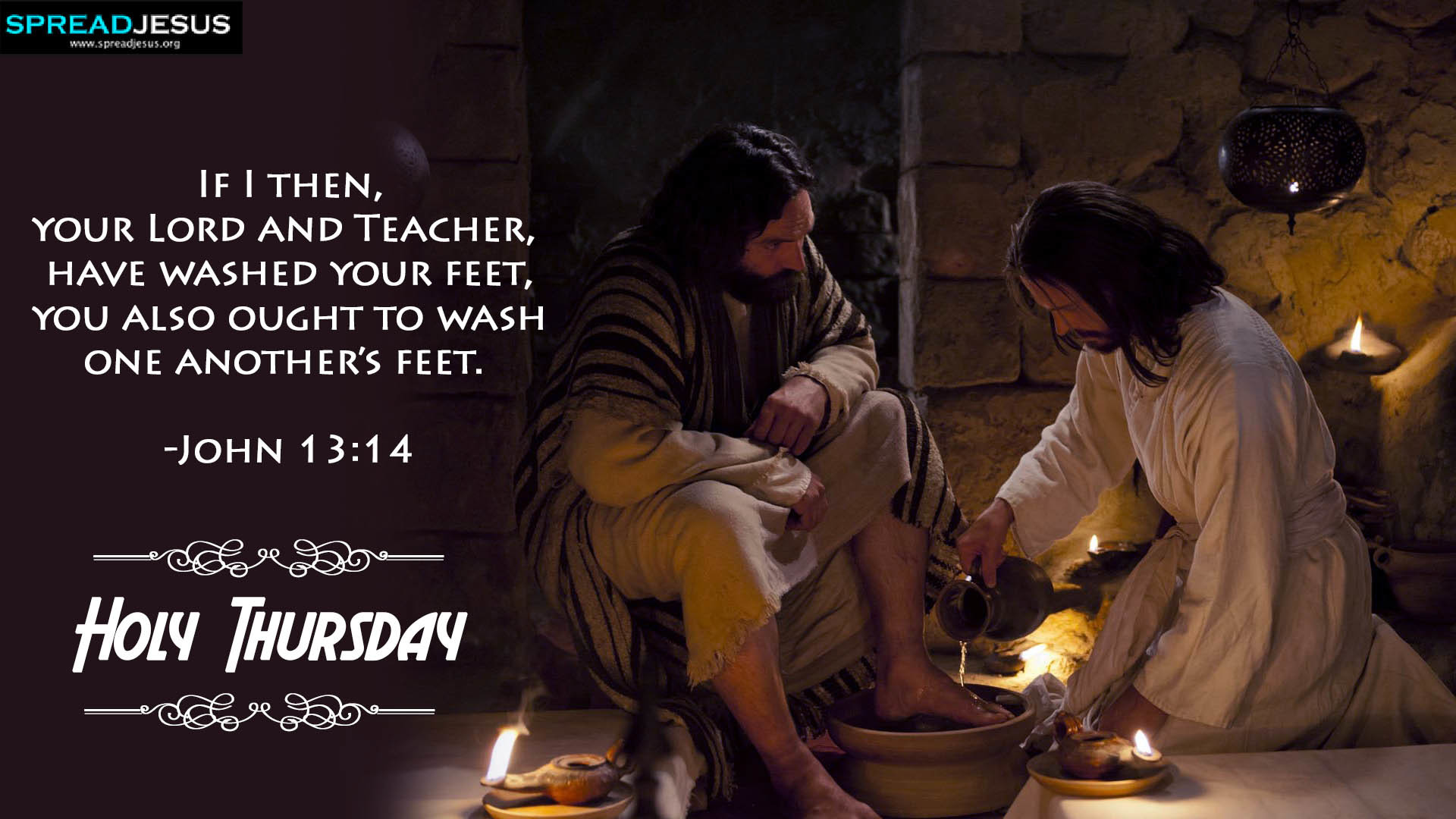 Res: 1920x1080, Holy Thursday Bible Quotes HD Wallpapers Download