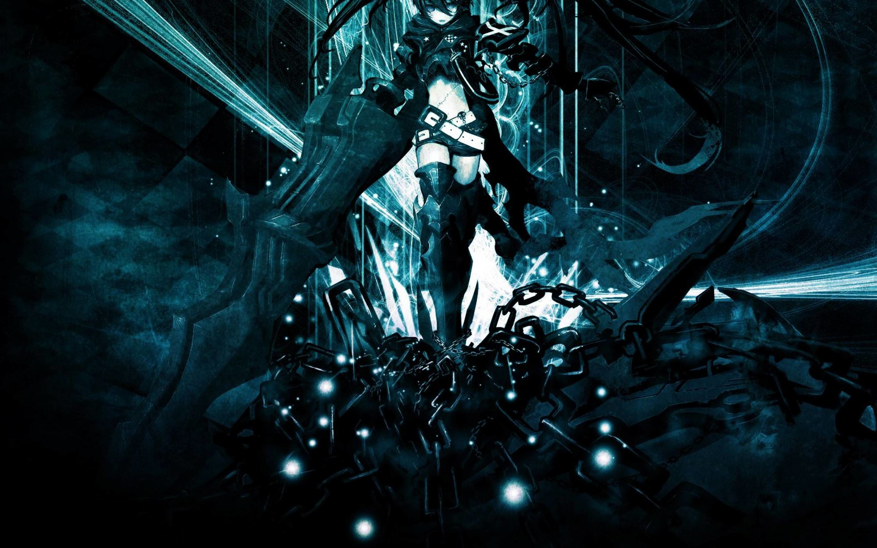Res: 2880x1800, Black Rock Shooter Wallpapers